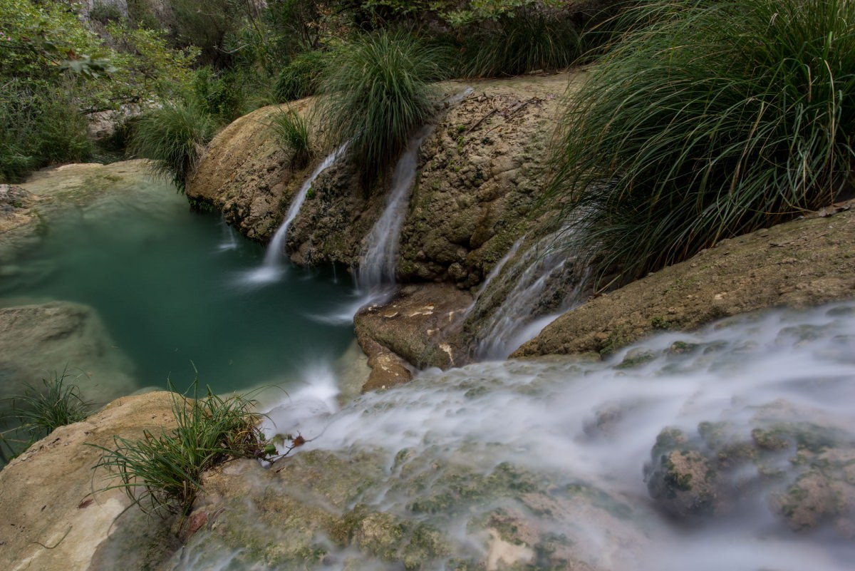 Polilmnio Waterfall - Greece Photography