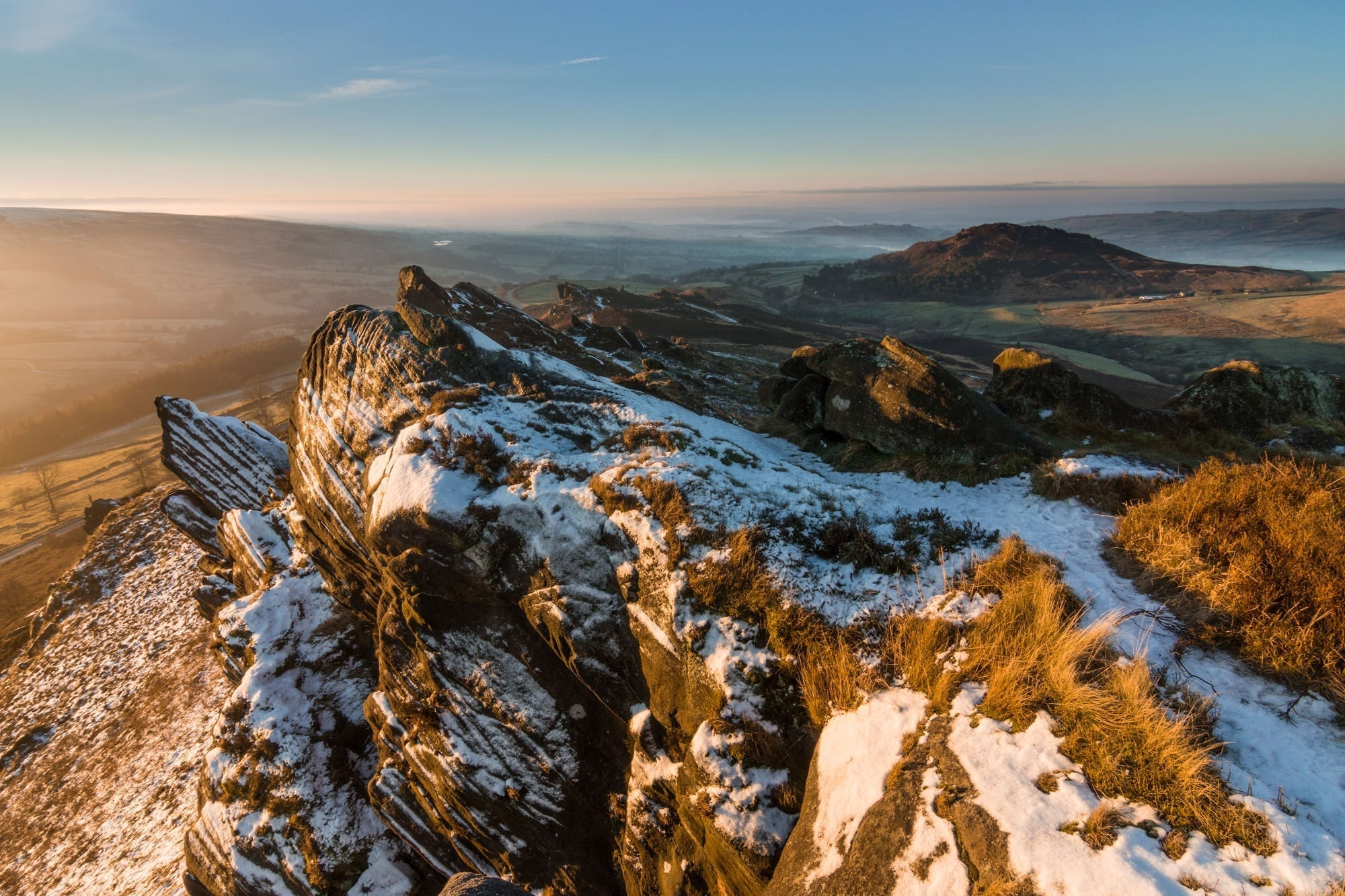 Ramshaw Rocks - Winter in the Peak District Photography Workshop