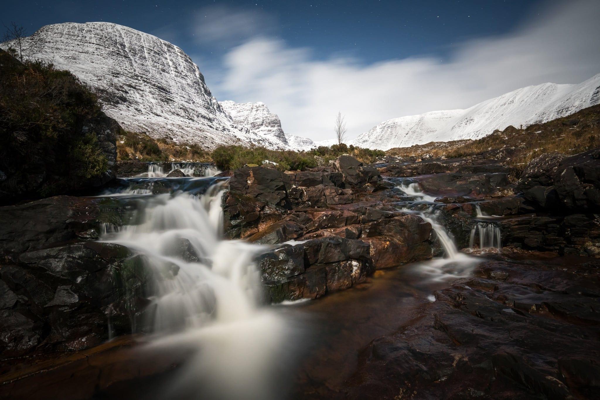 Russel Burn by Moonlight - Scotland Landscape Photography