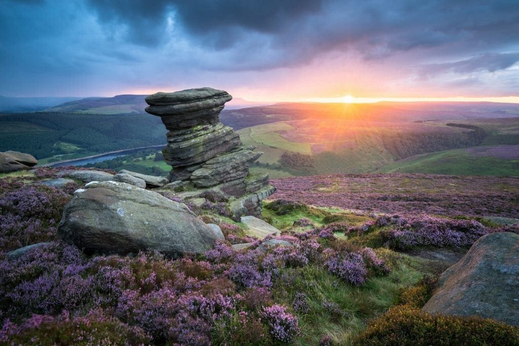 Salt Cellar Sunset - Peak District Photography