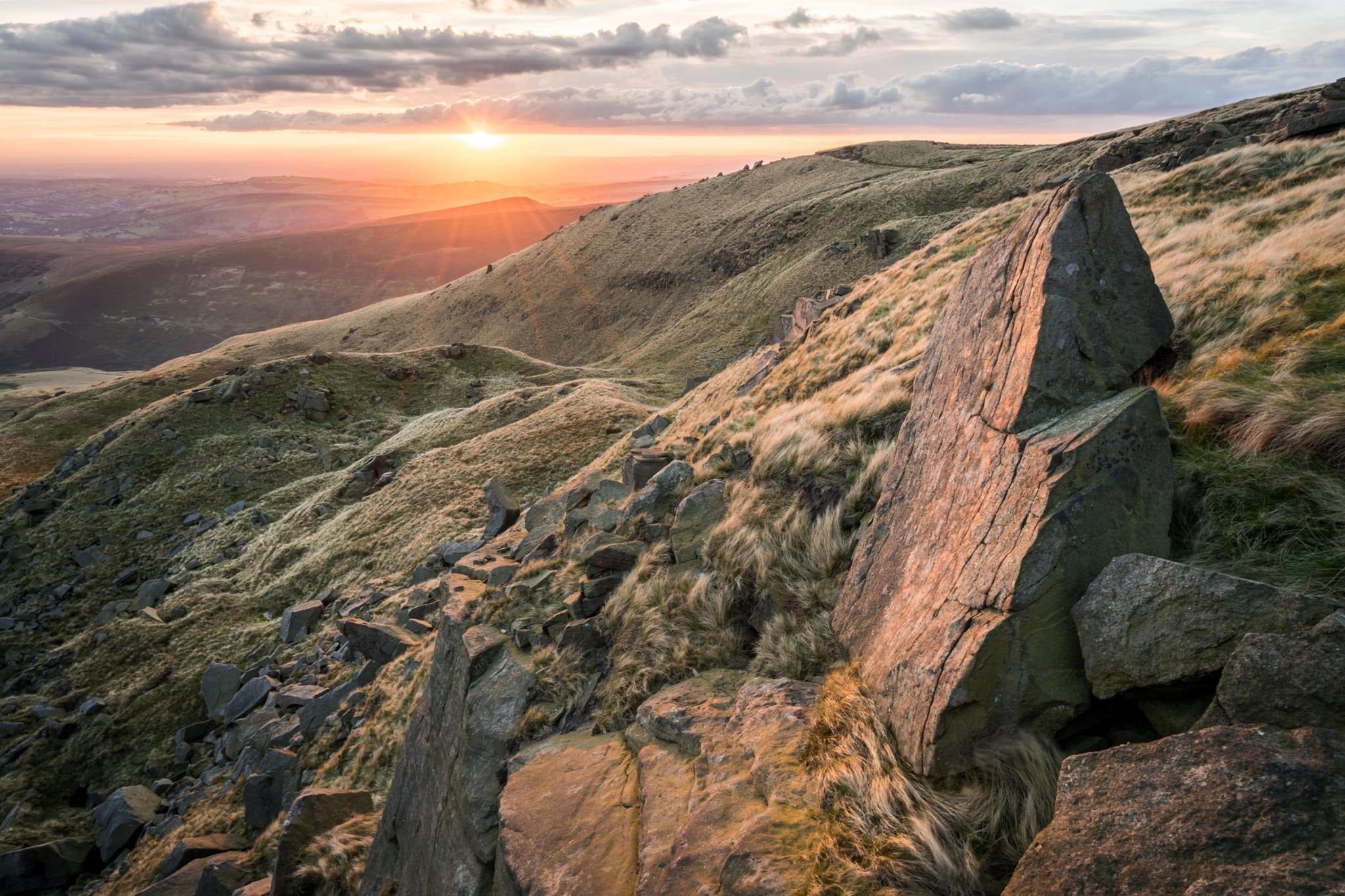 Sandy Heys Autumn Equinox Sunset - Kinder Scout Sunrise to Sunset Workshop