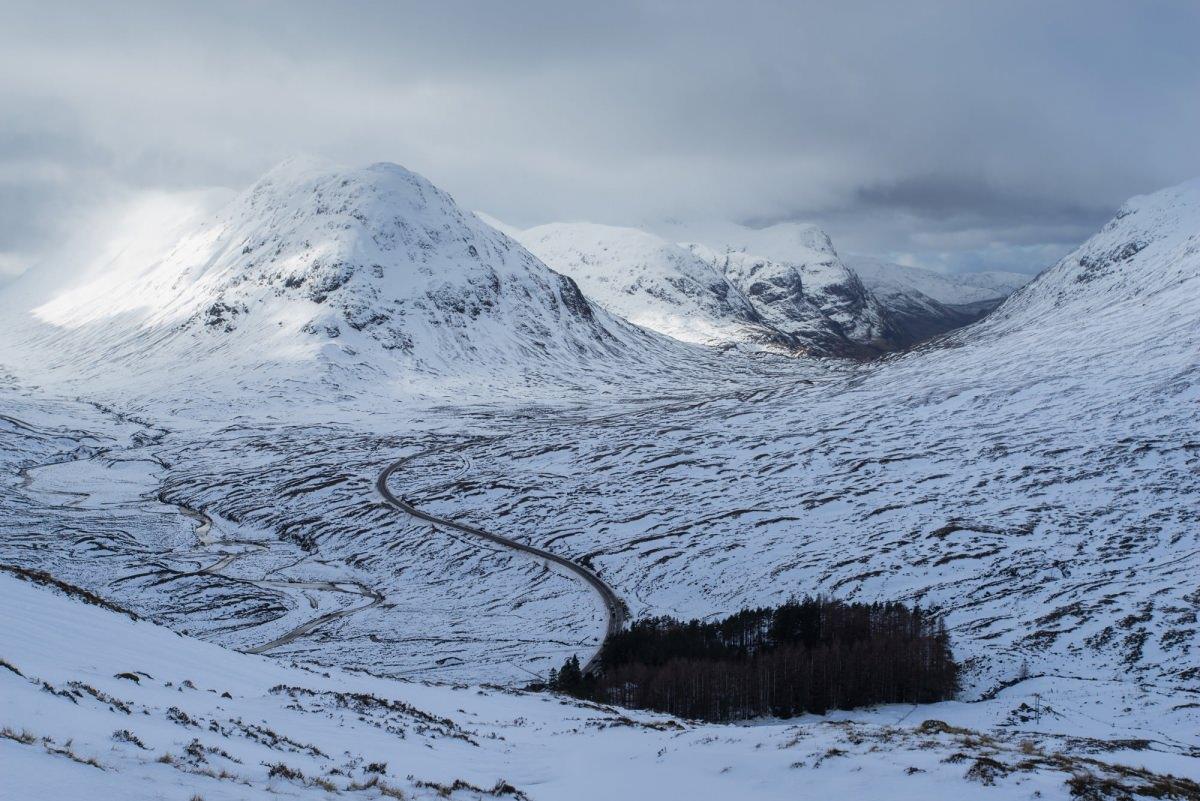 Beinn A'Chrulaiste Winter - Scotland Photography