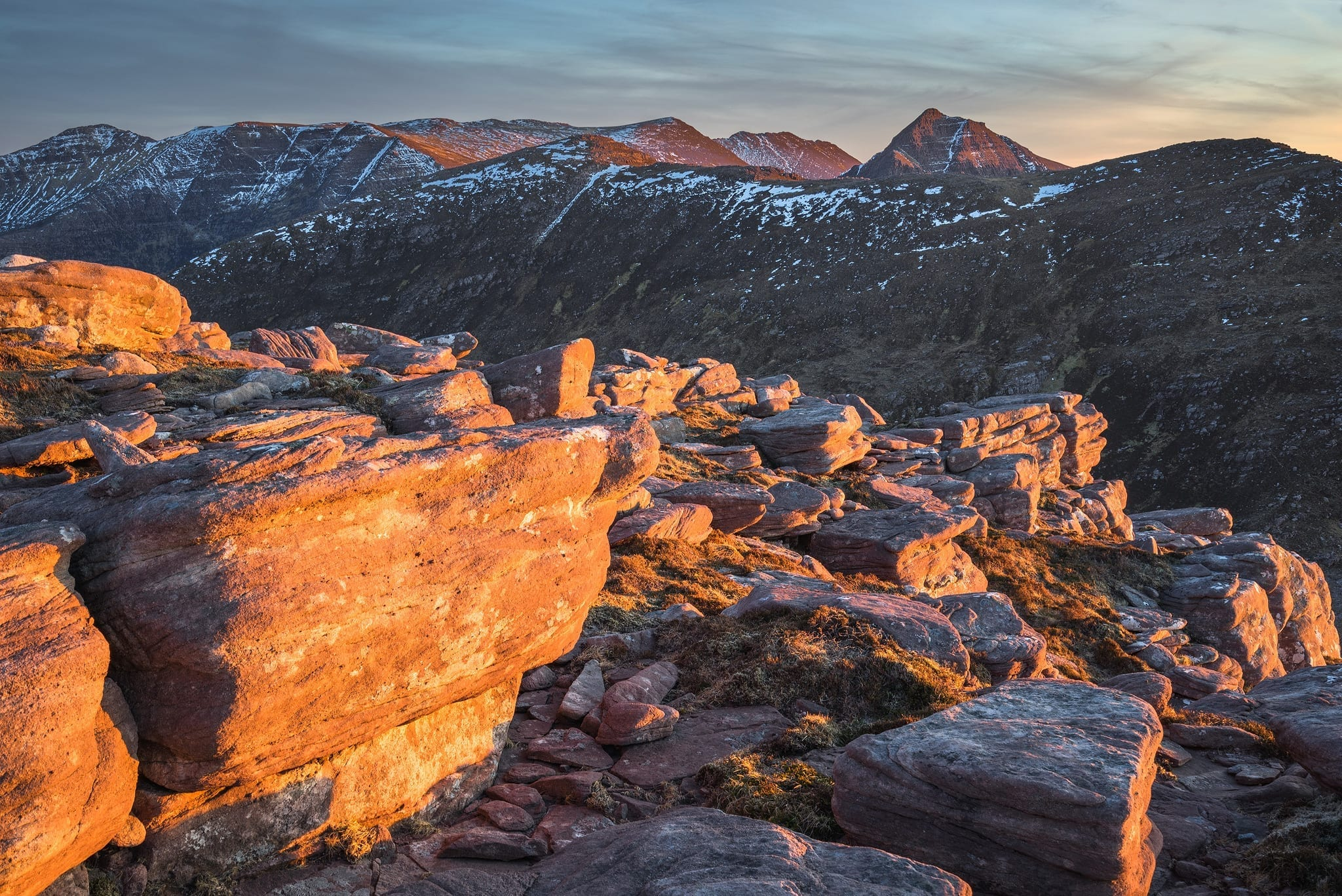 Sgorr Tuath Sunset - Scotland Landscape Photography