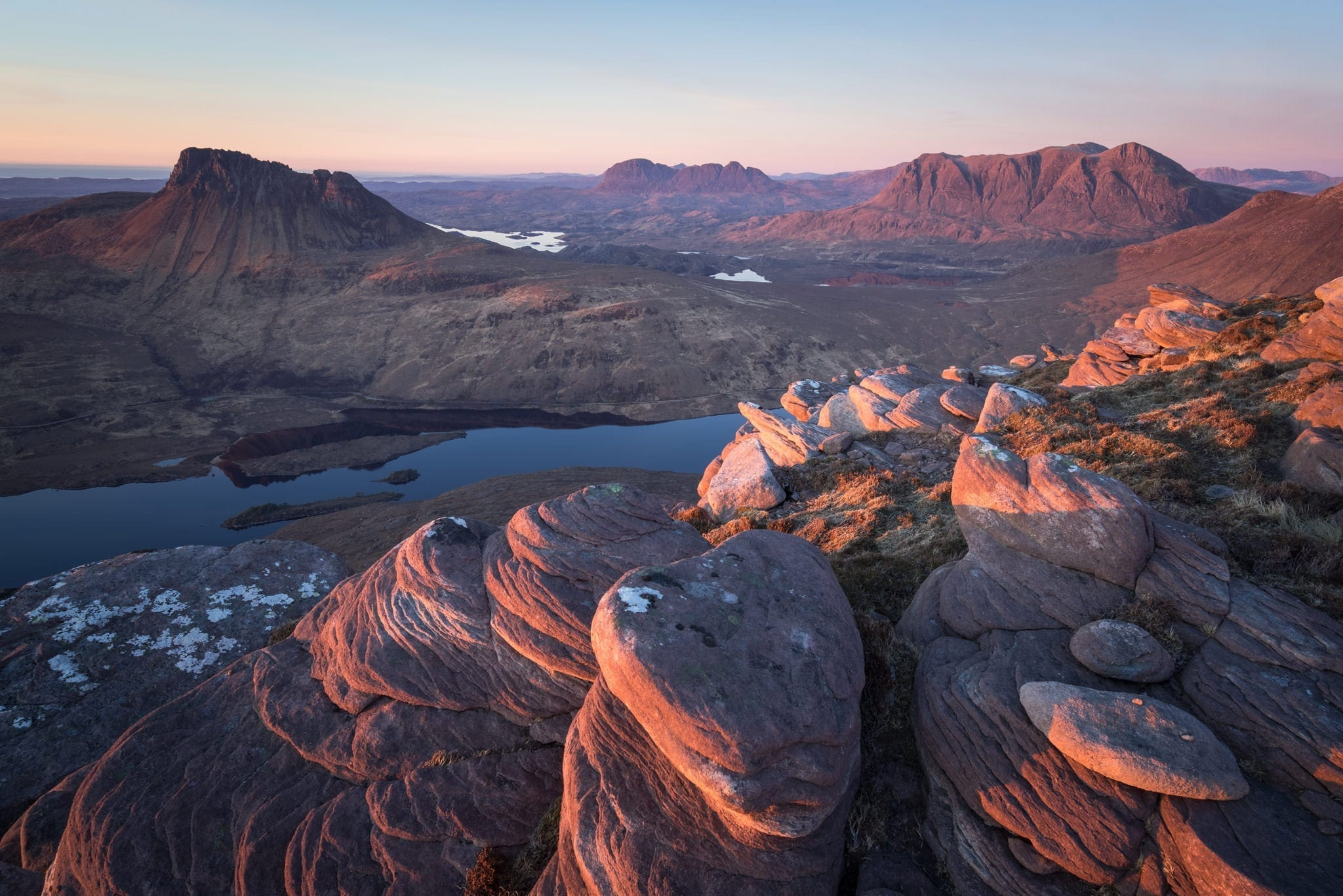 Sgorr Tuath Sunset - Scotland Photography