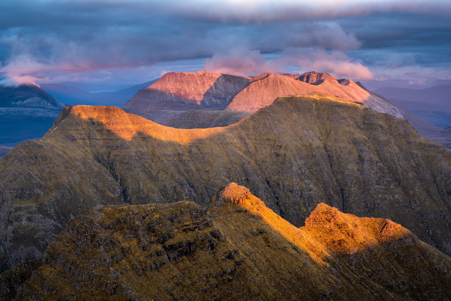Sgurr Mor Sunset – Beinn Alligin – Torridon – Scotland Landscape