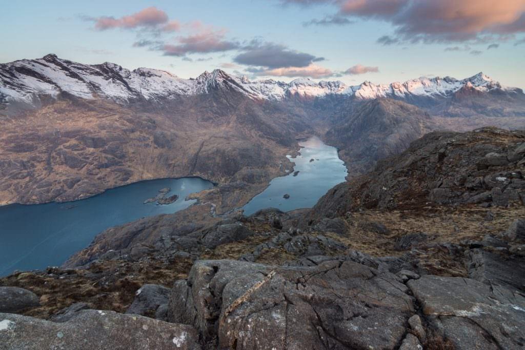 Sgurr Na Stri Sunrise - Wild Camping Photography