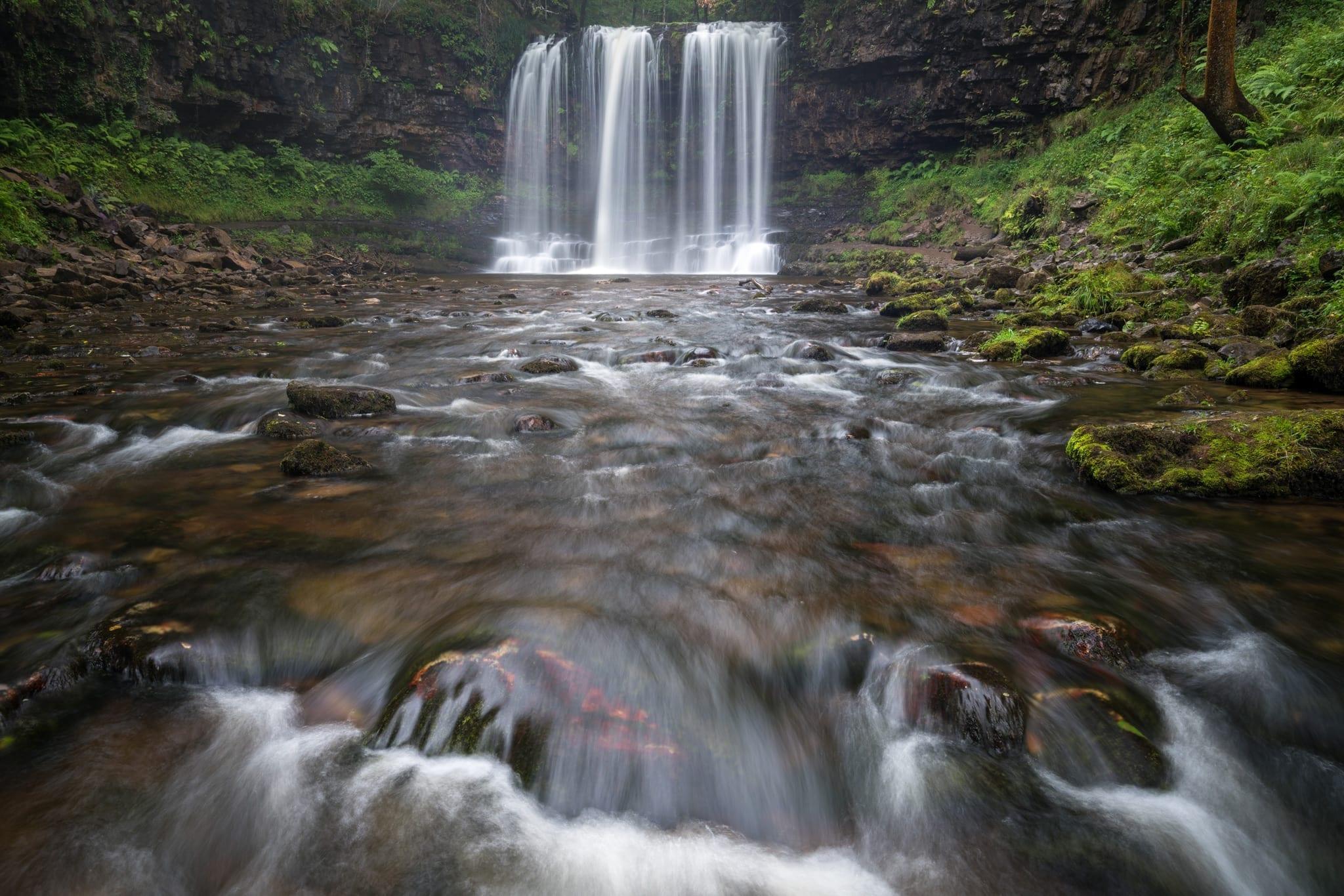 Sgwd Yr Eira Waterfall - Brecon Beacons Waterfall