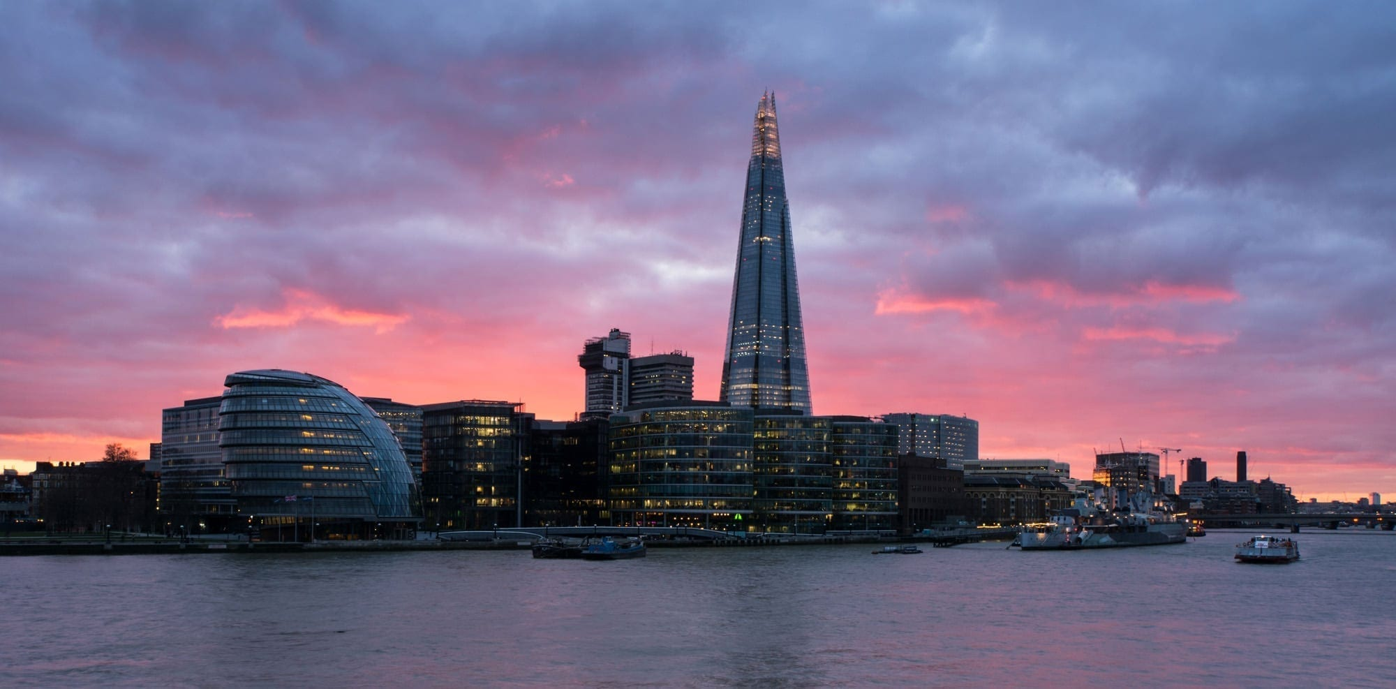 The Shard Sunset - London Photography