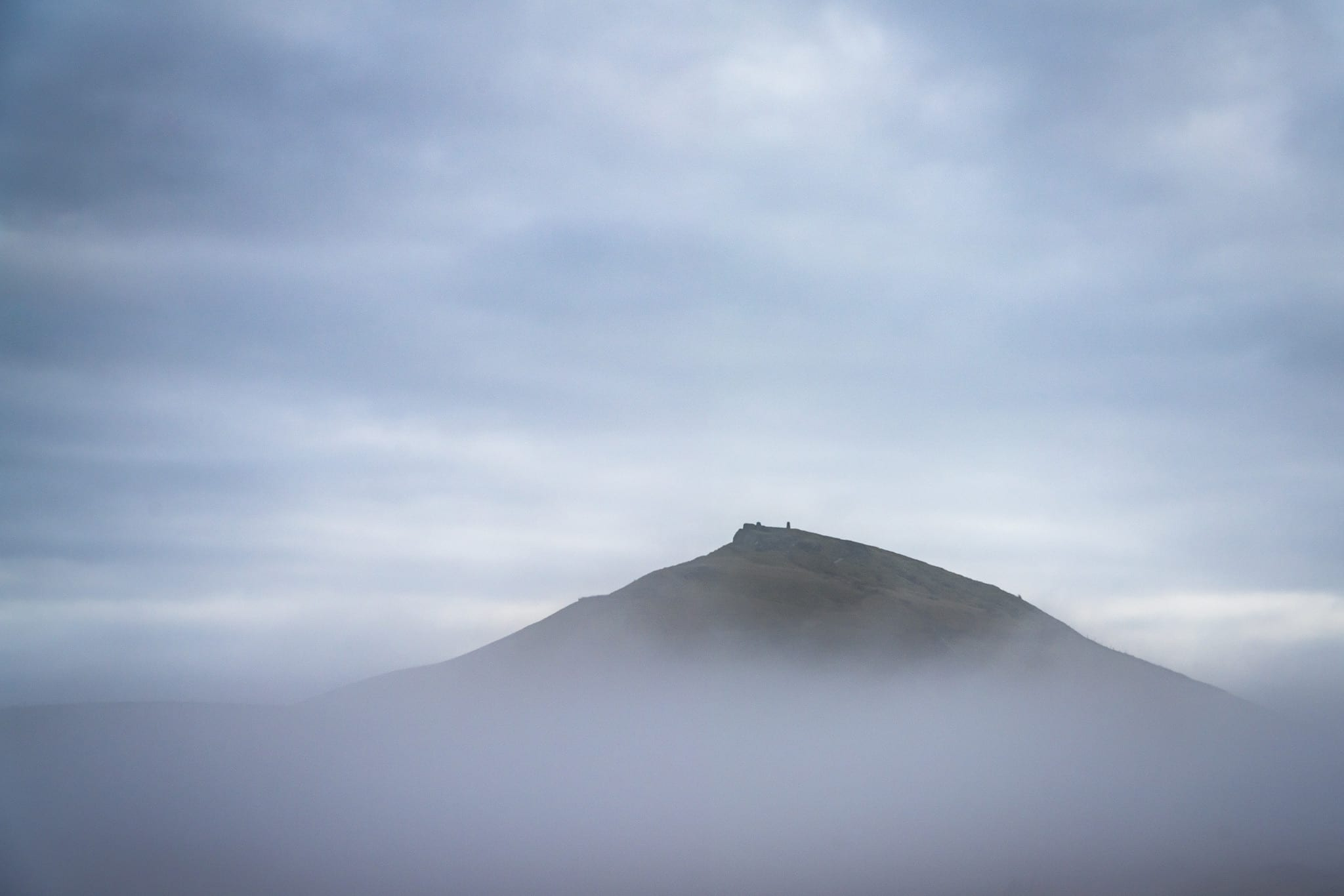 Shutlingsloe above the Cloud – Peak District Photography