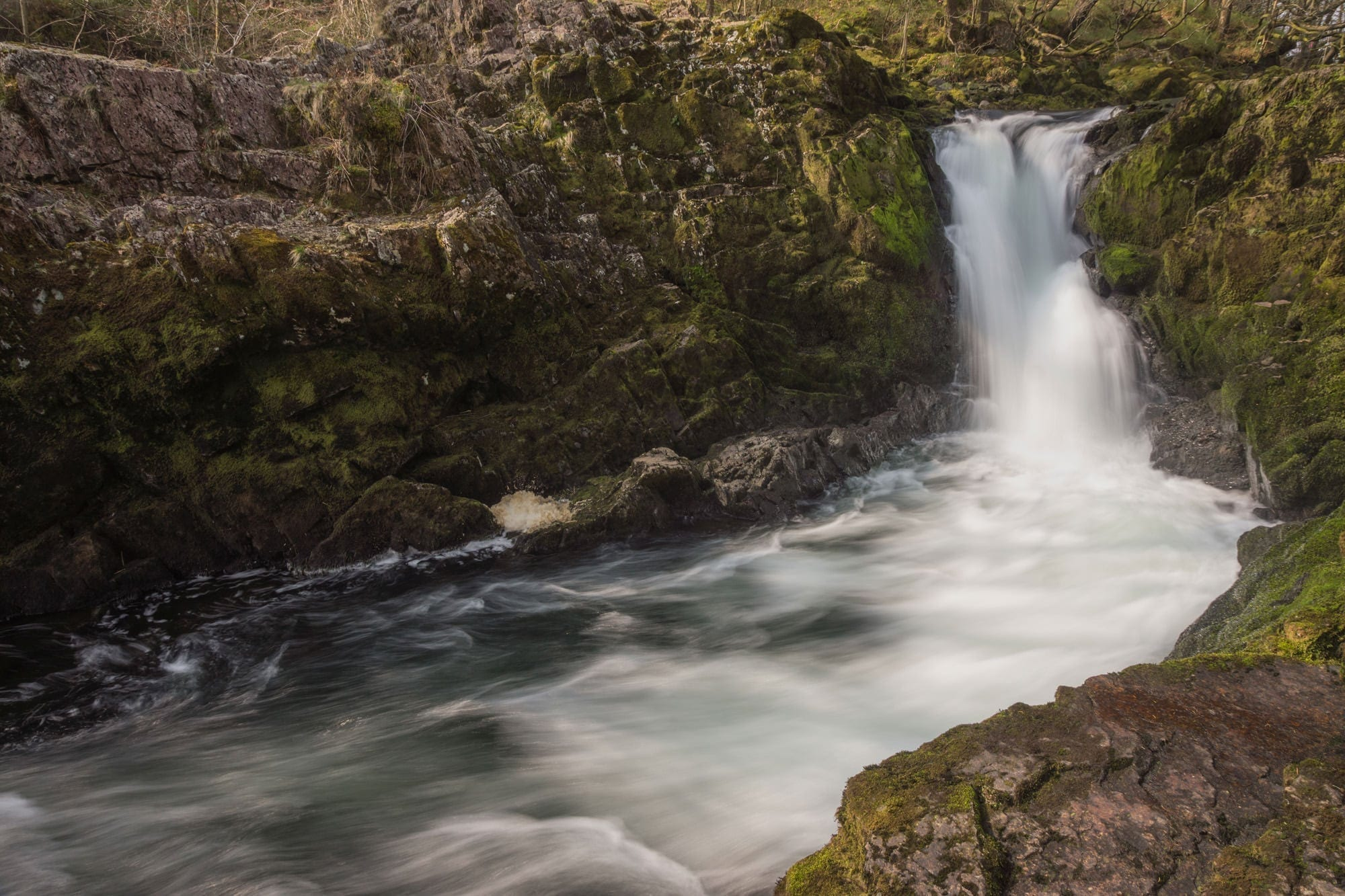 Skelwith Force Waterfall - Lake District Photography
