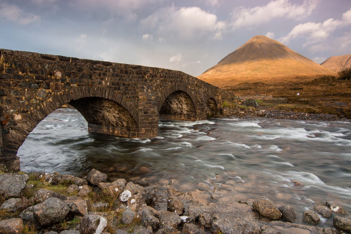 Sligachan Bridge - Scotland Photography