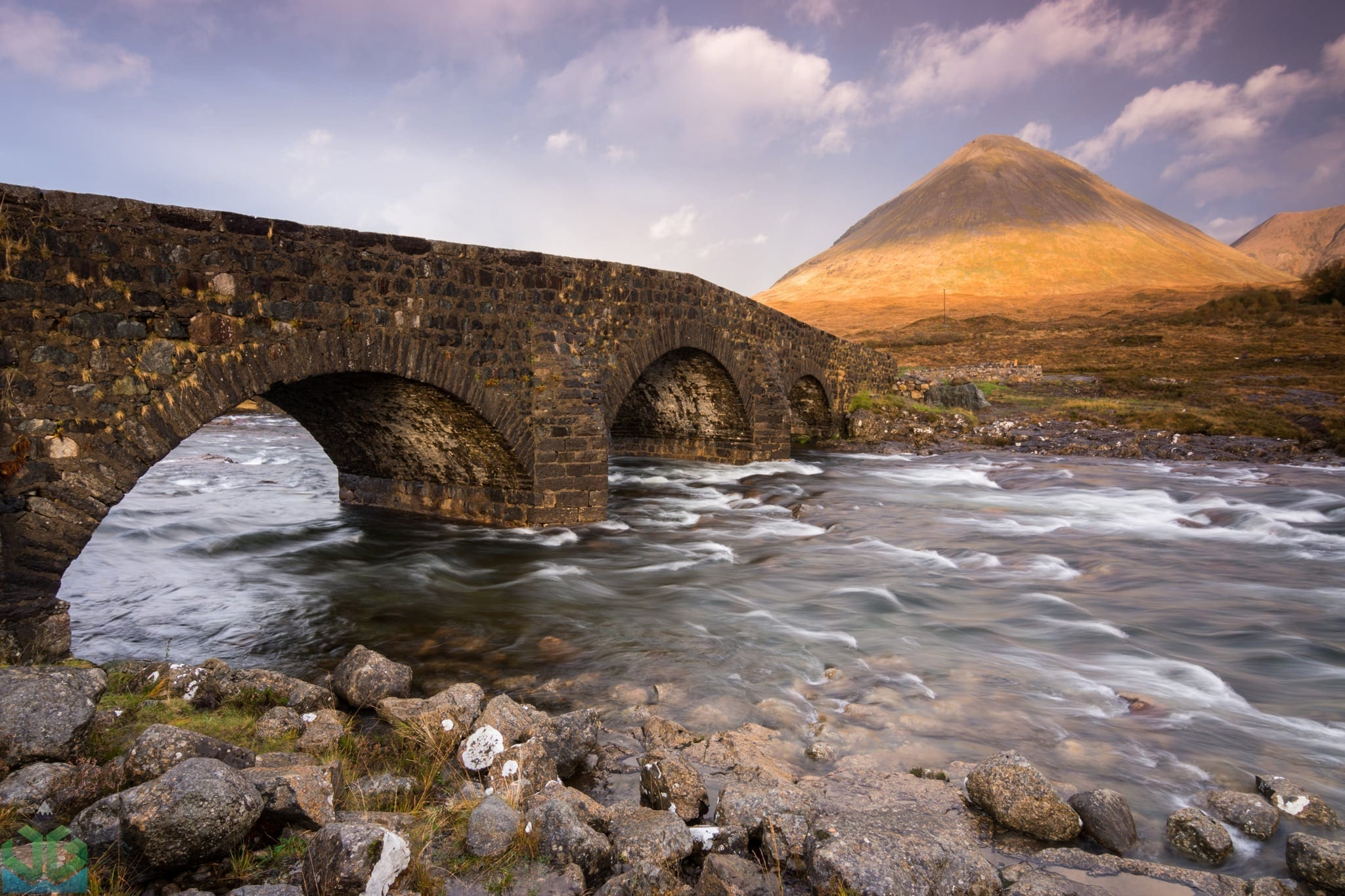 Sligachan Bridge Sunset - Isle of Skye Photography Workshop