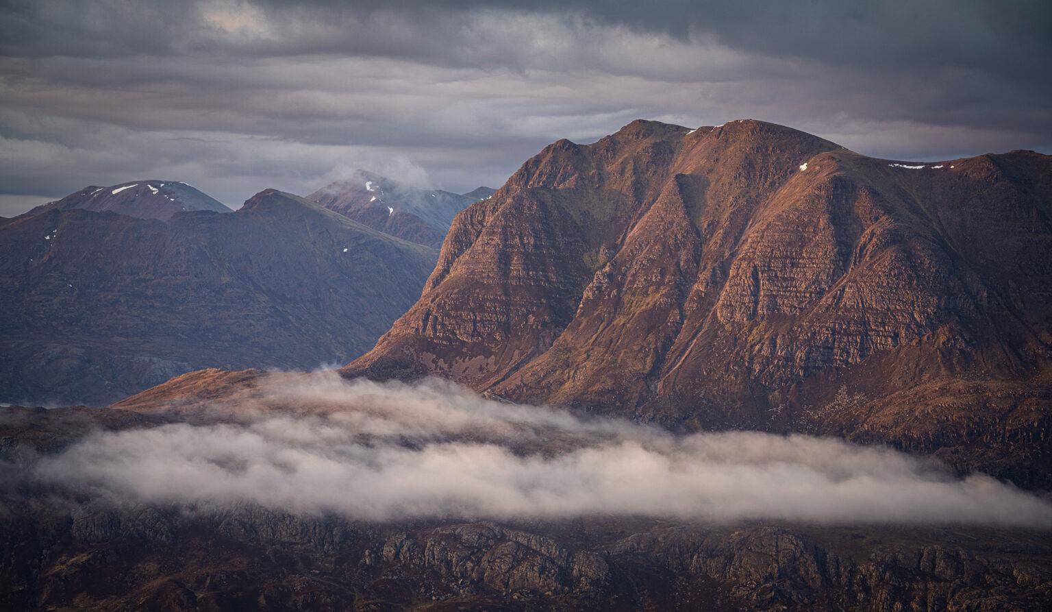Slioch from Beinn A-Chearcaill  – Scotland Photography