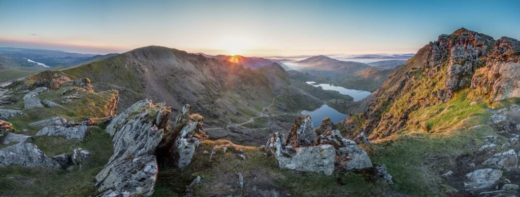 Snowdon Sunrise - Wild Camping Photography
