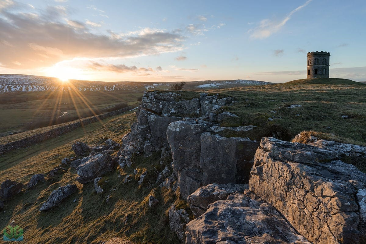 Solomons Temple Sunset - Peak District Through The Lens Photography Workshop