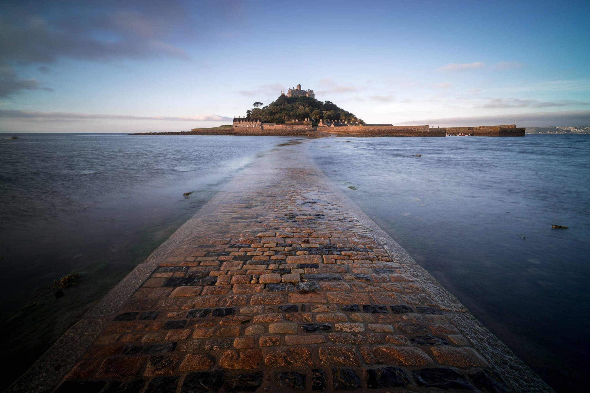St Michaels Mount Sunrise - Cornwall Photography