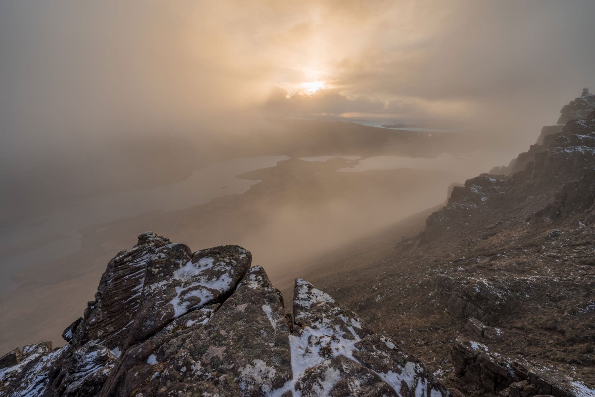 Stac Polliadh Mists - Scotland Wild Camping Photography Workshop
