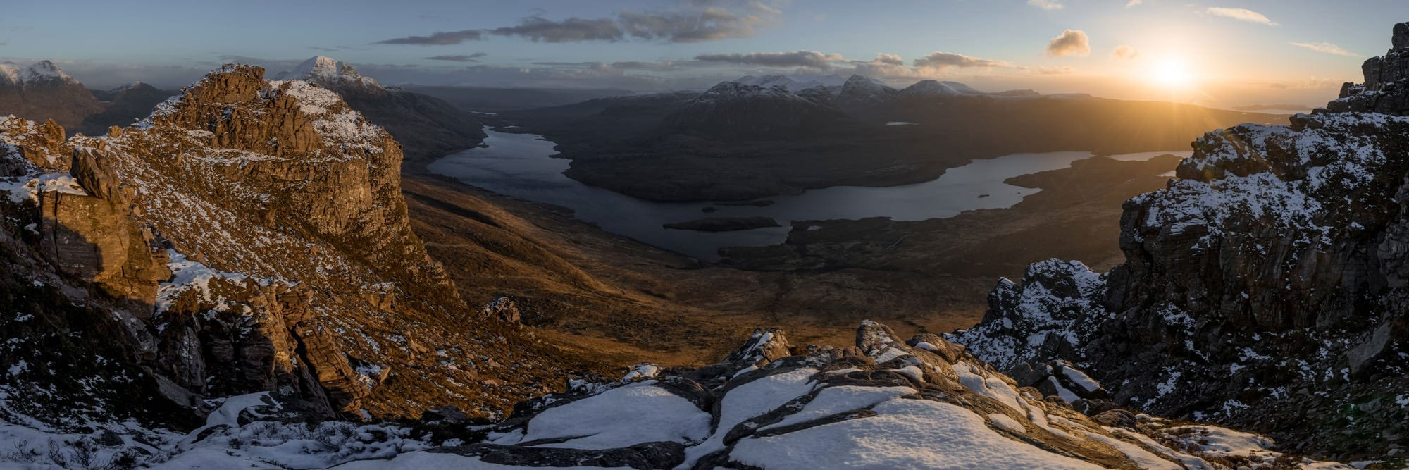 Stac Polliadh Panoramic - Scotland Photography Workshops