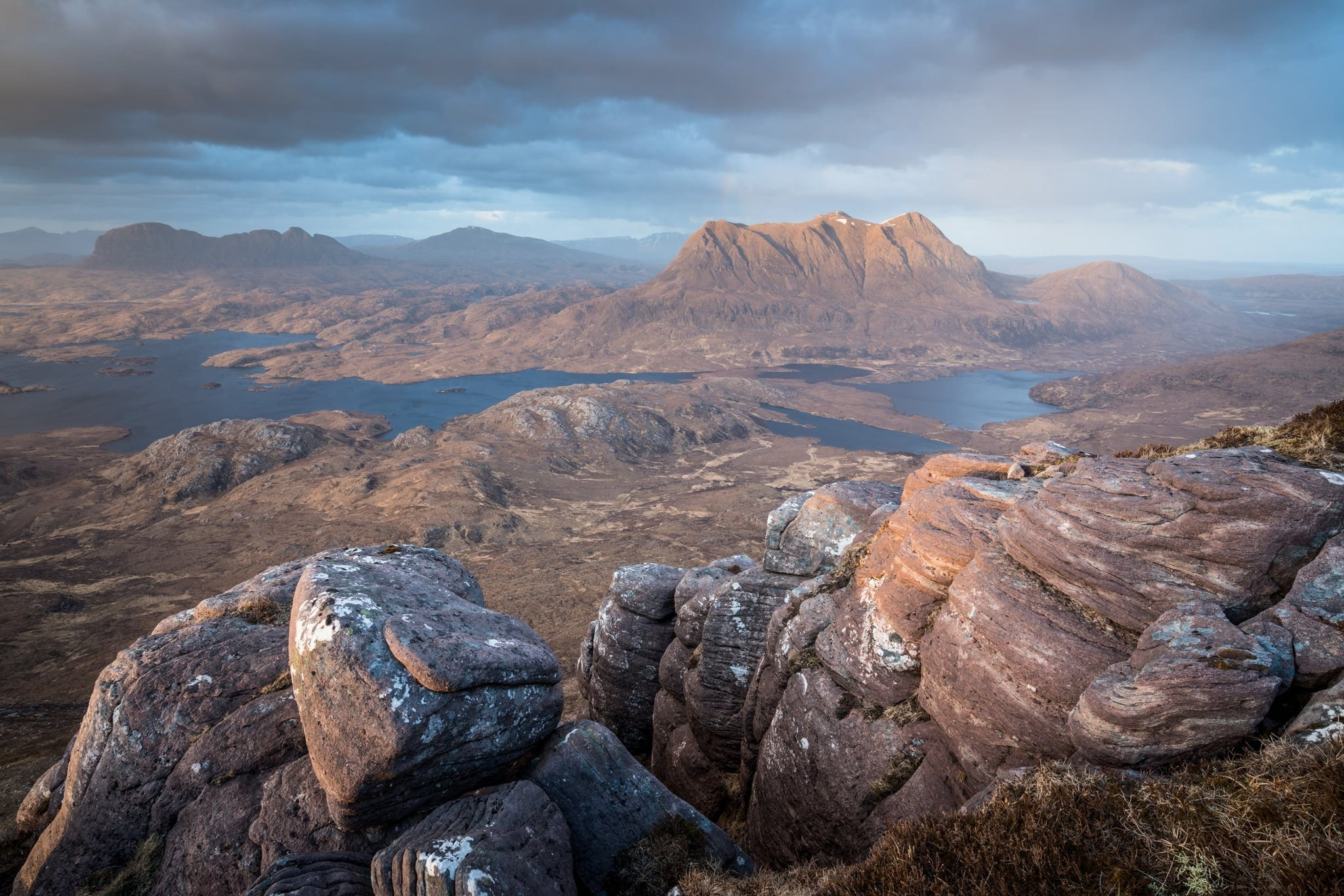 Stac Polliadh to Cul Mor - Scotland Landscape Photography