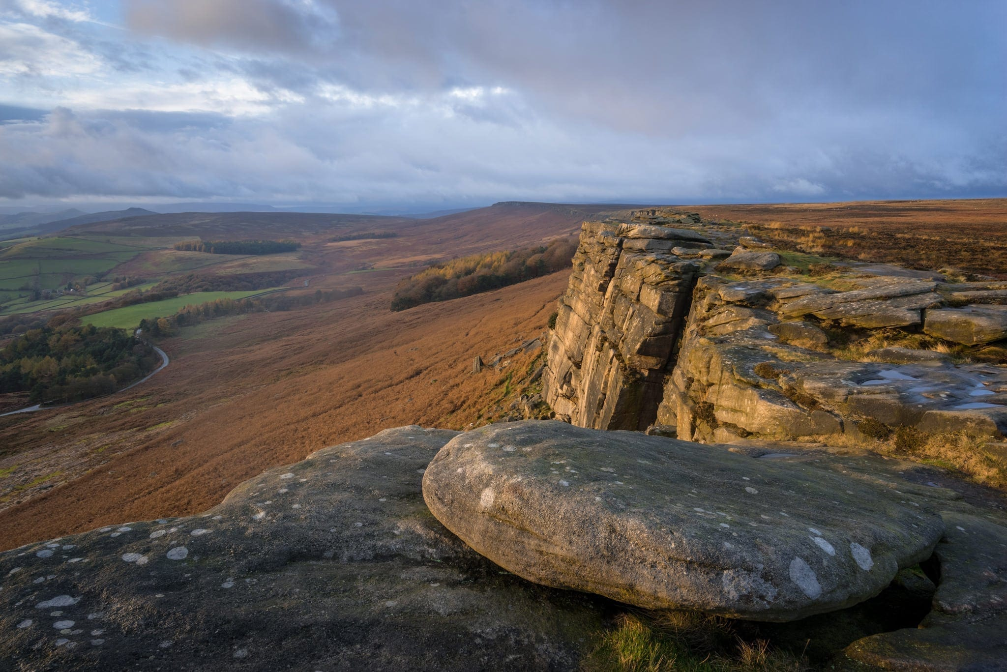 Stanage Edge - Peak District Photography Winter Workshop