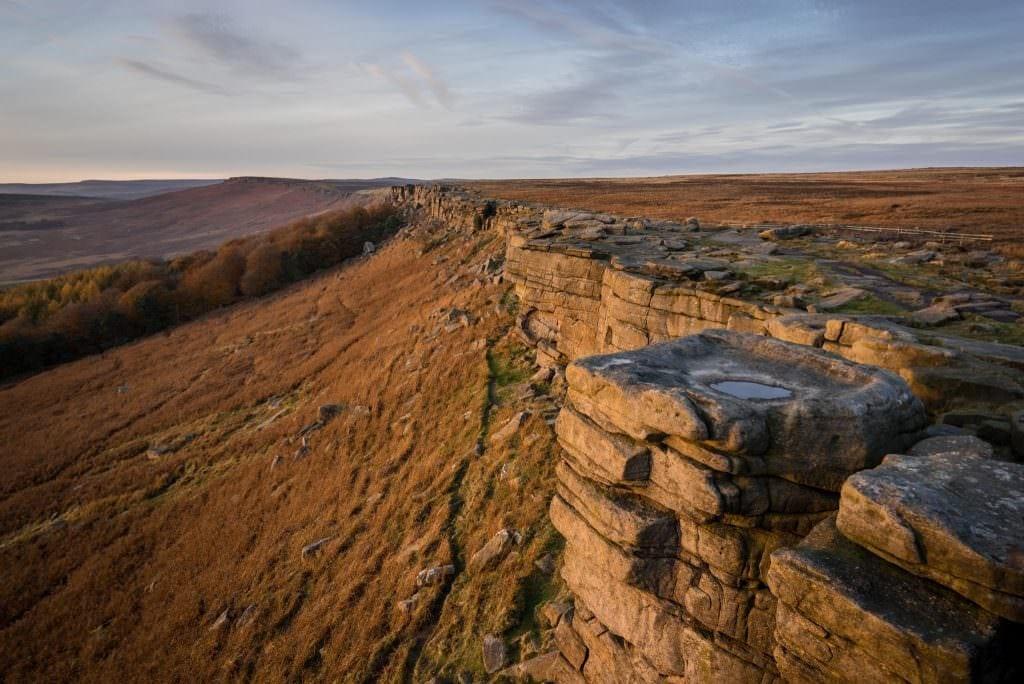 Autumn on Stanage Edge Peak District Landscape Photography Workshop