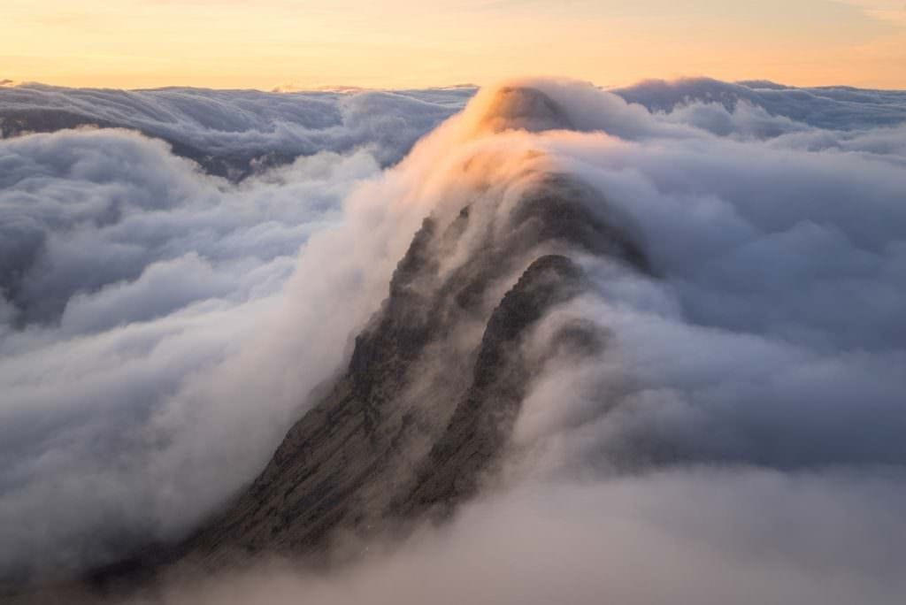 Suilven Sunrise Inversion - Wild Camping Photography Workshops
