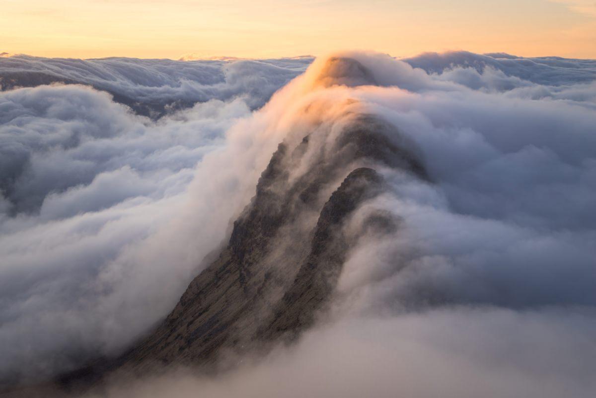 Suilven Sunrise Inversion - Scotland Photography