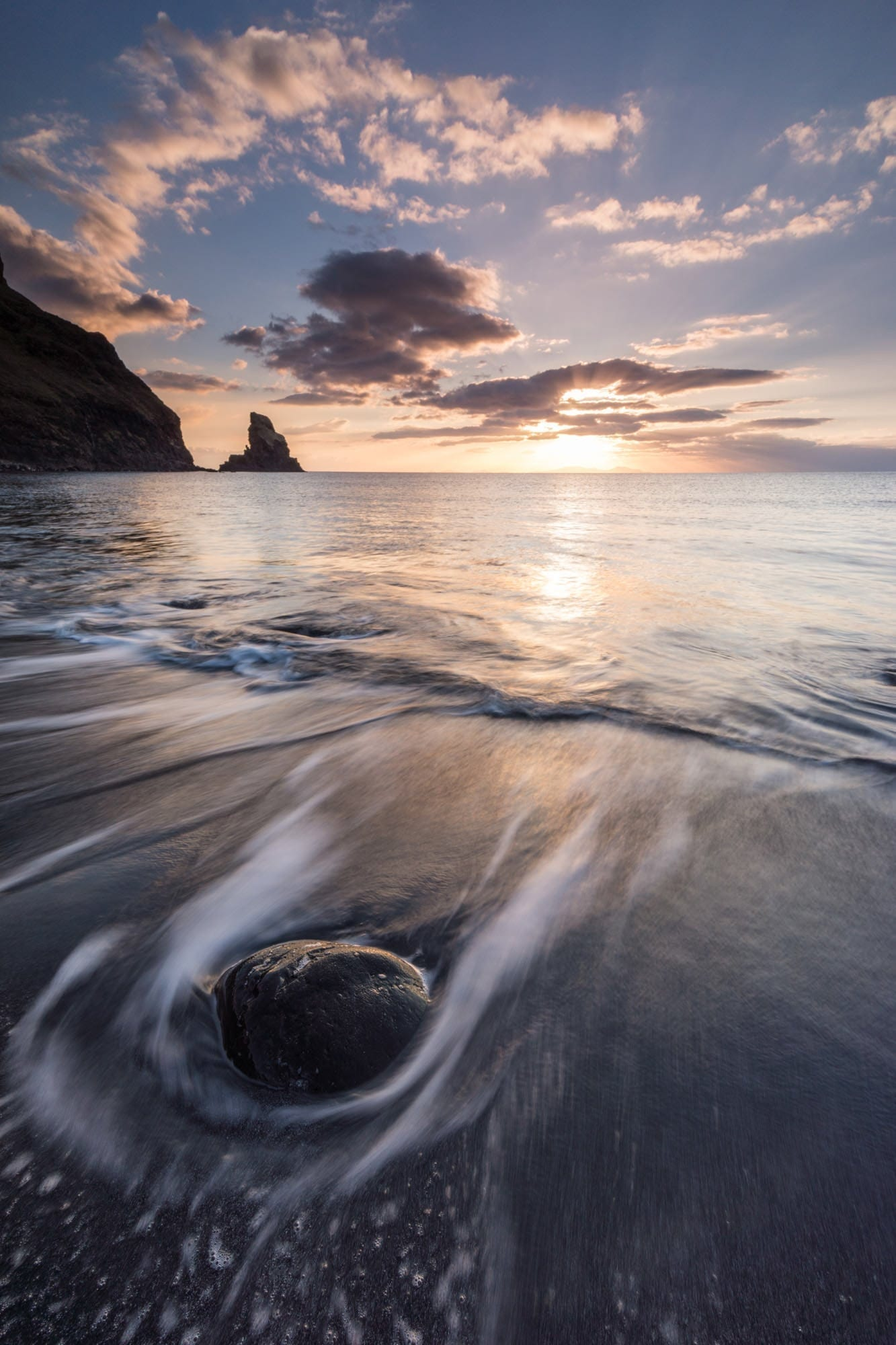 Talisker Bay Sunset - Scotland Photography
