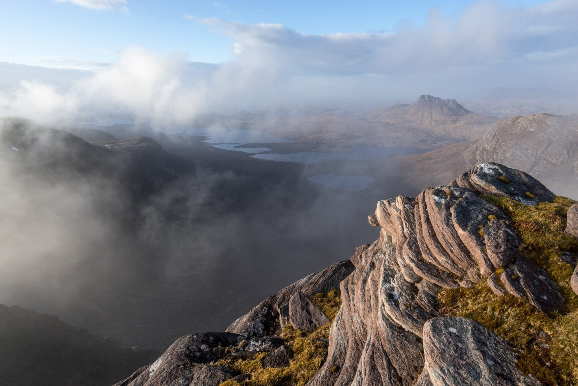 The Fiddler - Sgurr an Fhidlheir - Wild Camping Photography Workshop