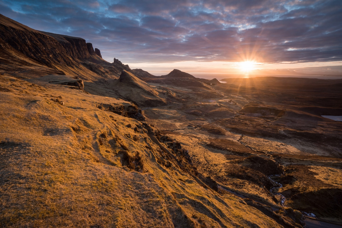 Quiraing Sunrise- Scotland Photography