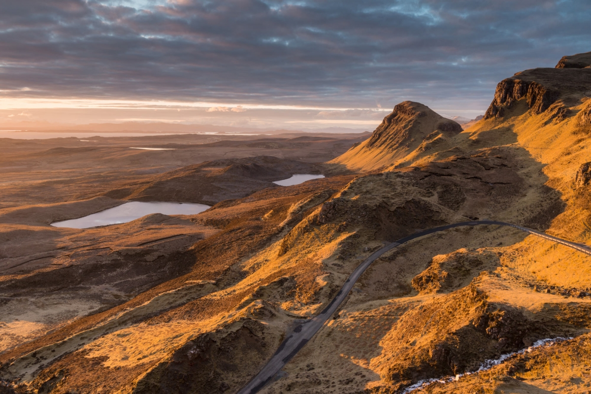 The Quiraing and Cleat Sunrise - Scotland Photography