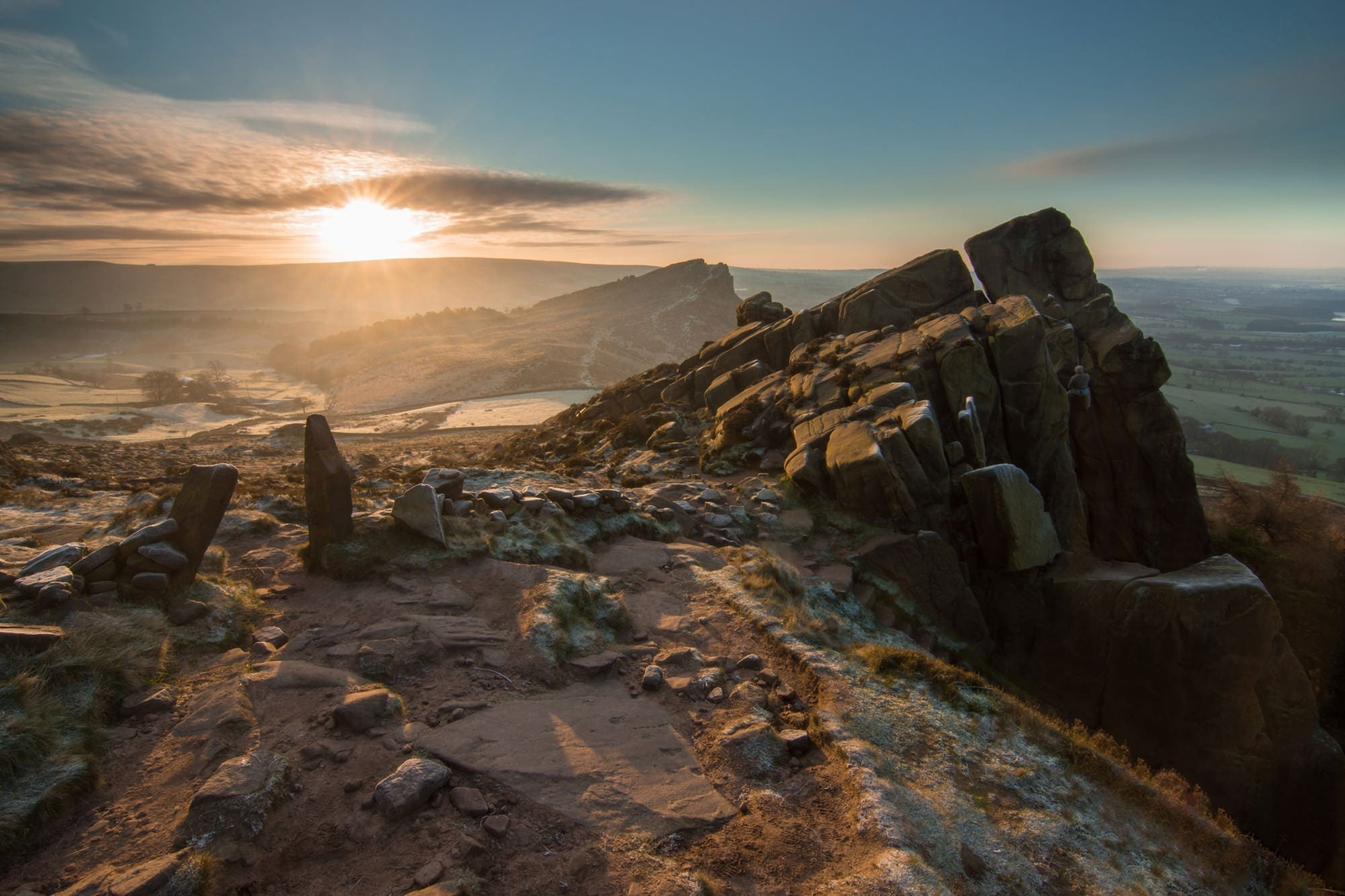 The Roaches Sunrise - Rugged South-West Peak Photography Workshop