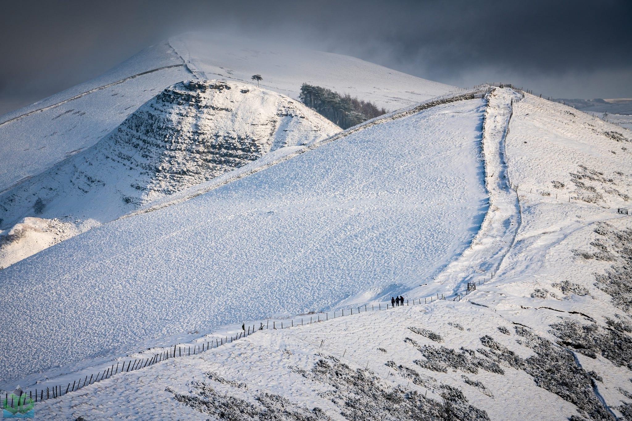 The Wintery Great Ridge - Peak District Photography