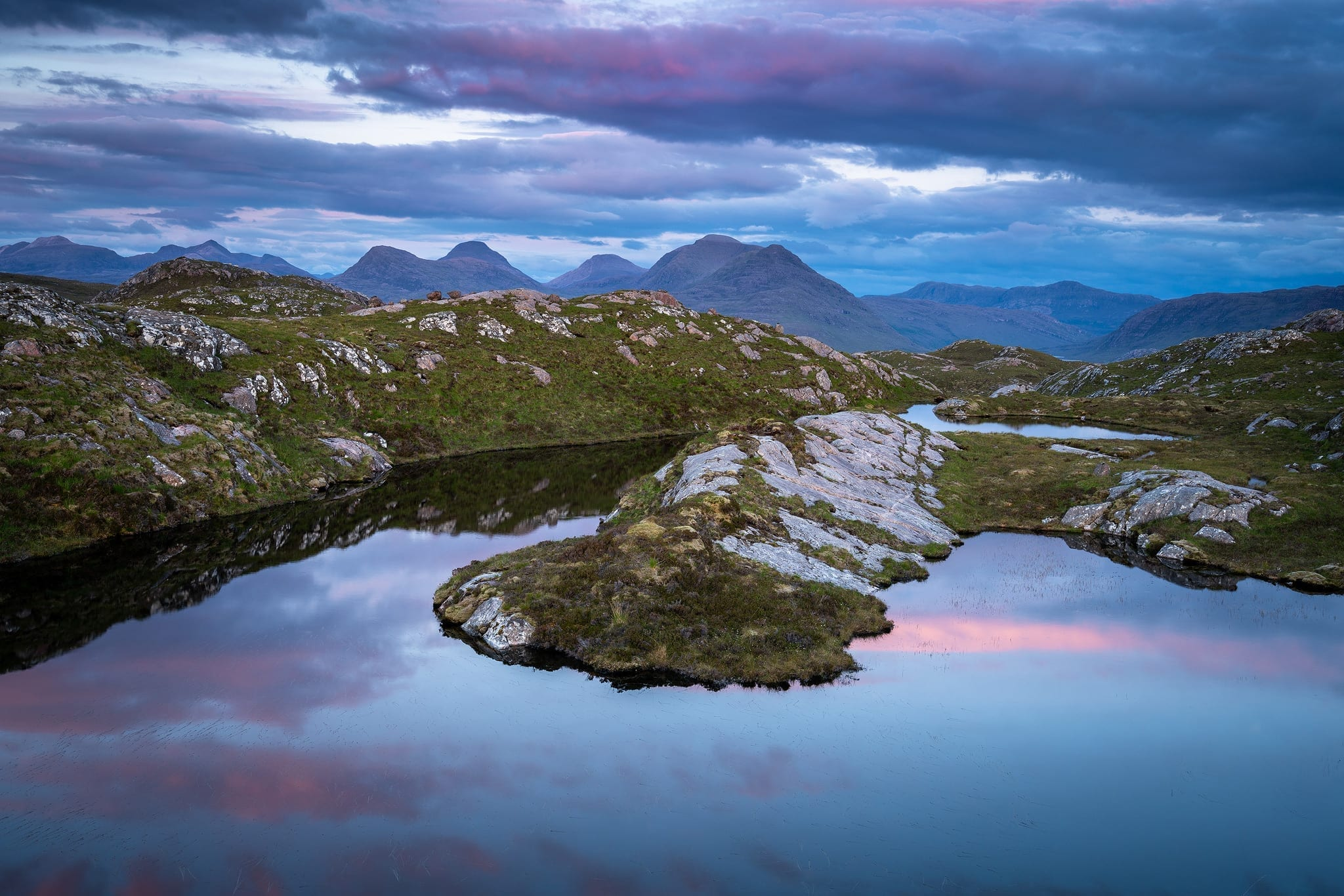 Torridon Loch Sunset – Scotland Landscape Photography