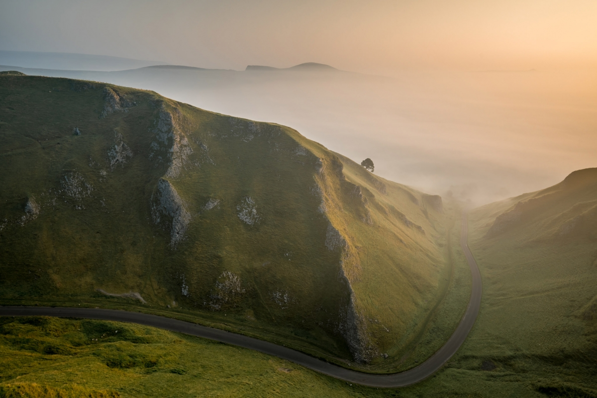 Winnats Pass Sunrise - Peak District Photography