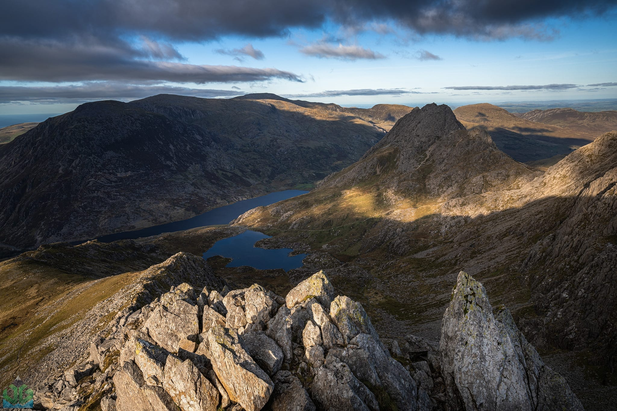 Y Gribin Sunset – Snowdonia Landscape Photography