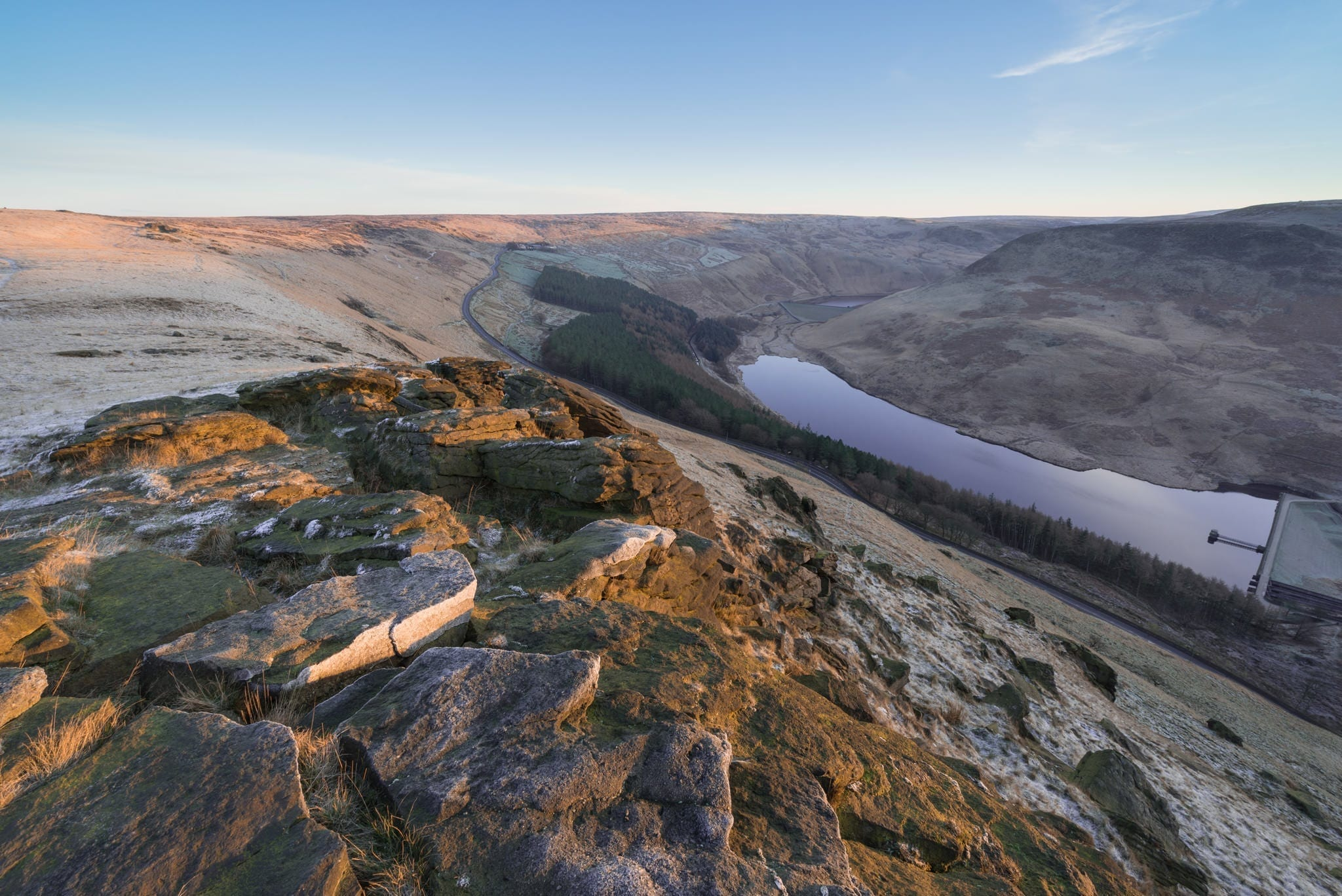Aldermans Hill Frosty Sunrise - Stunning Saddleworth Photography Workshop