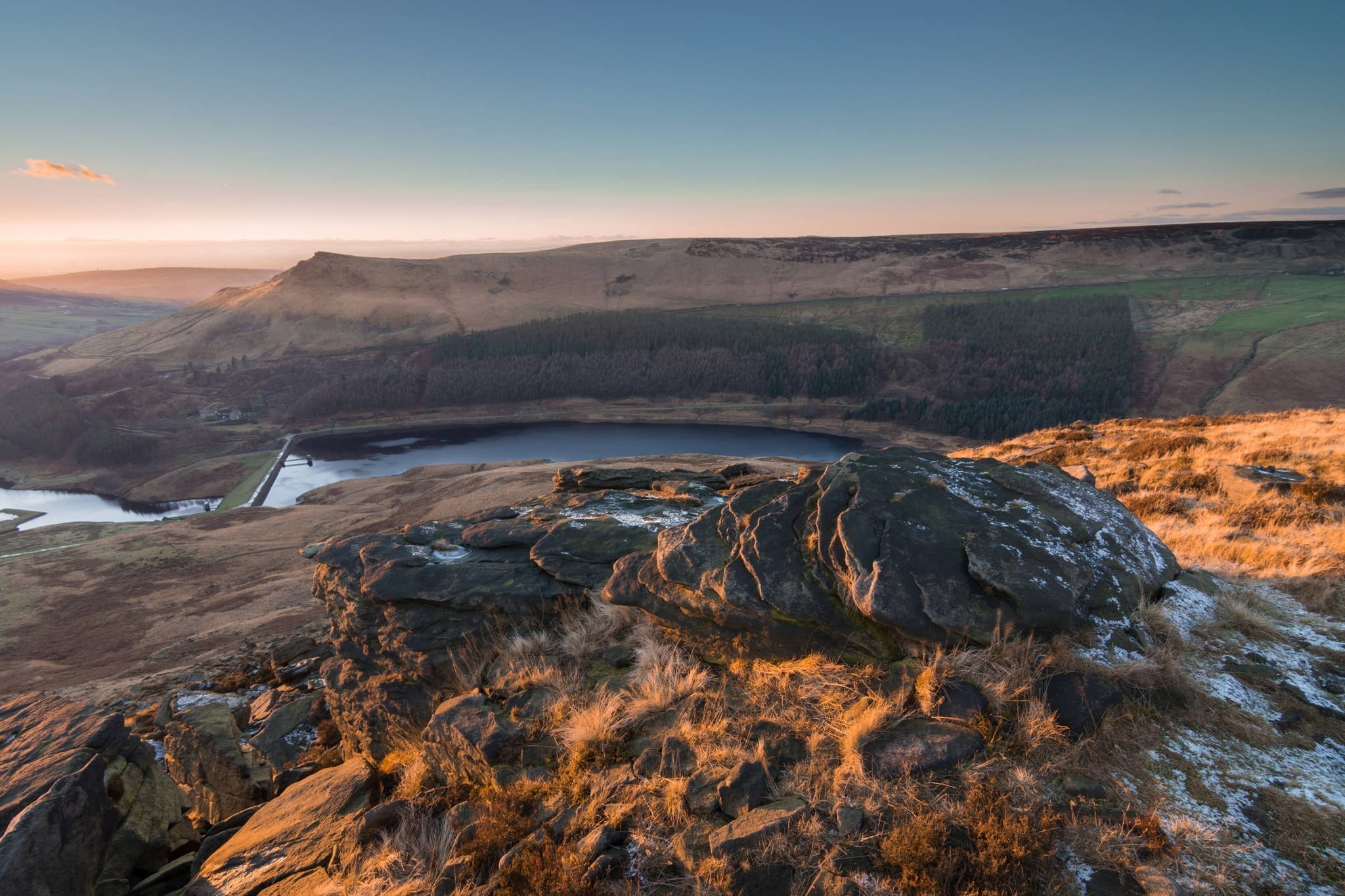 Ashway Rocks to Aldermans Hill Sunset - Stunning Saddleworth Photography Workshop