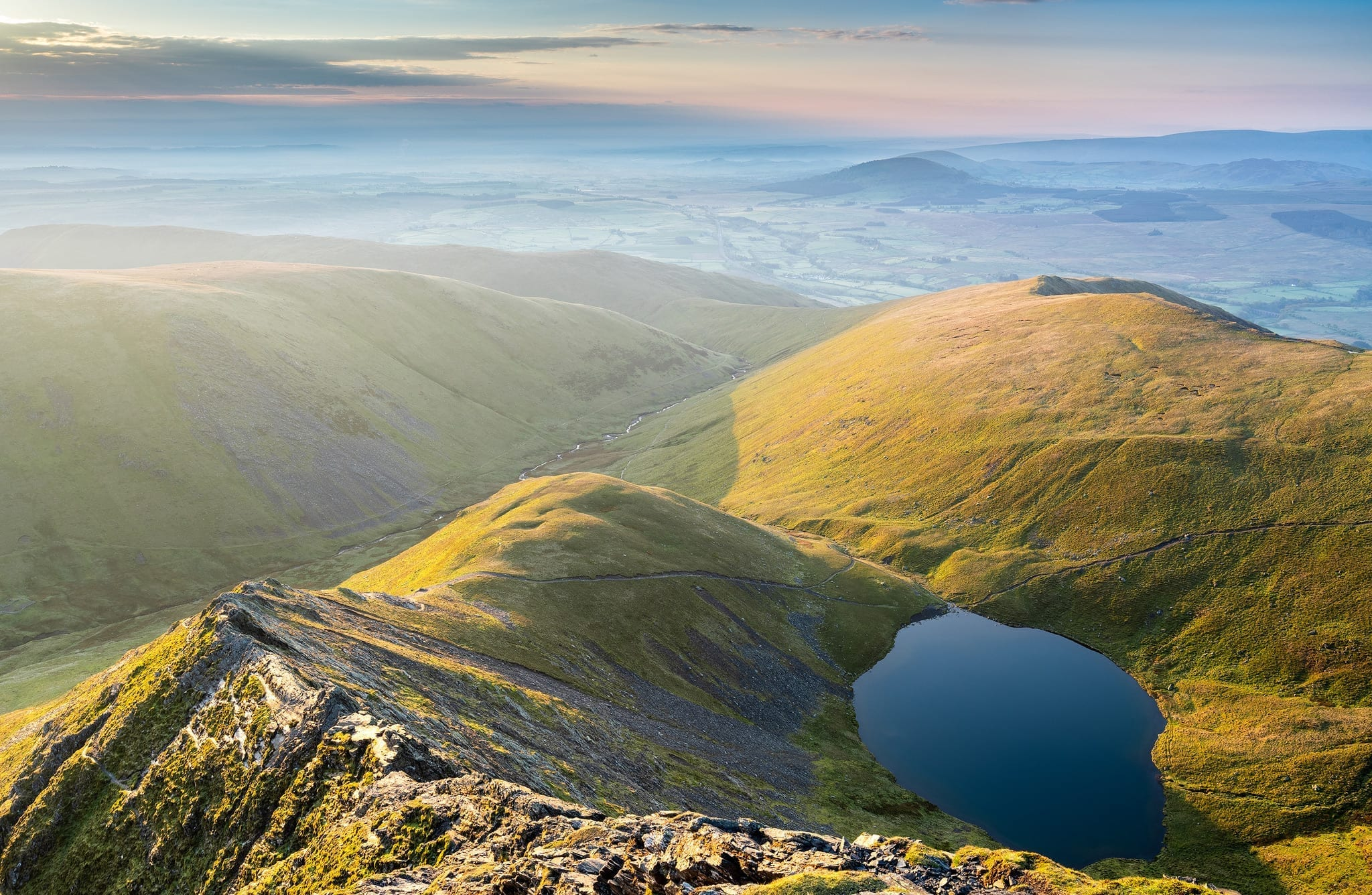 Blencathra and Sharp Edge Sunrise – Lake District Photography