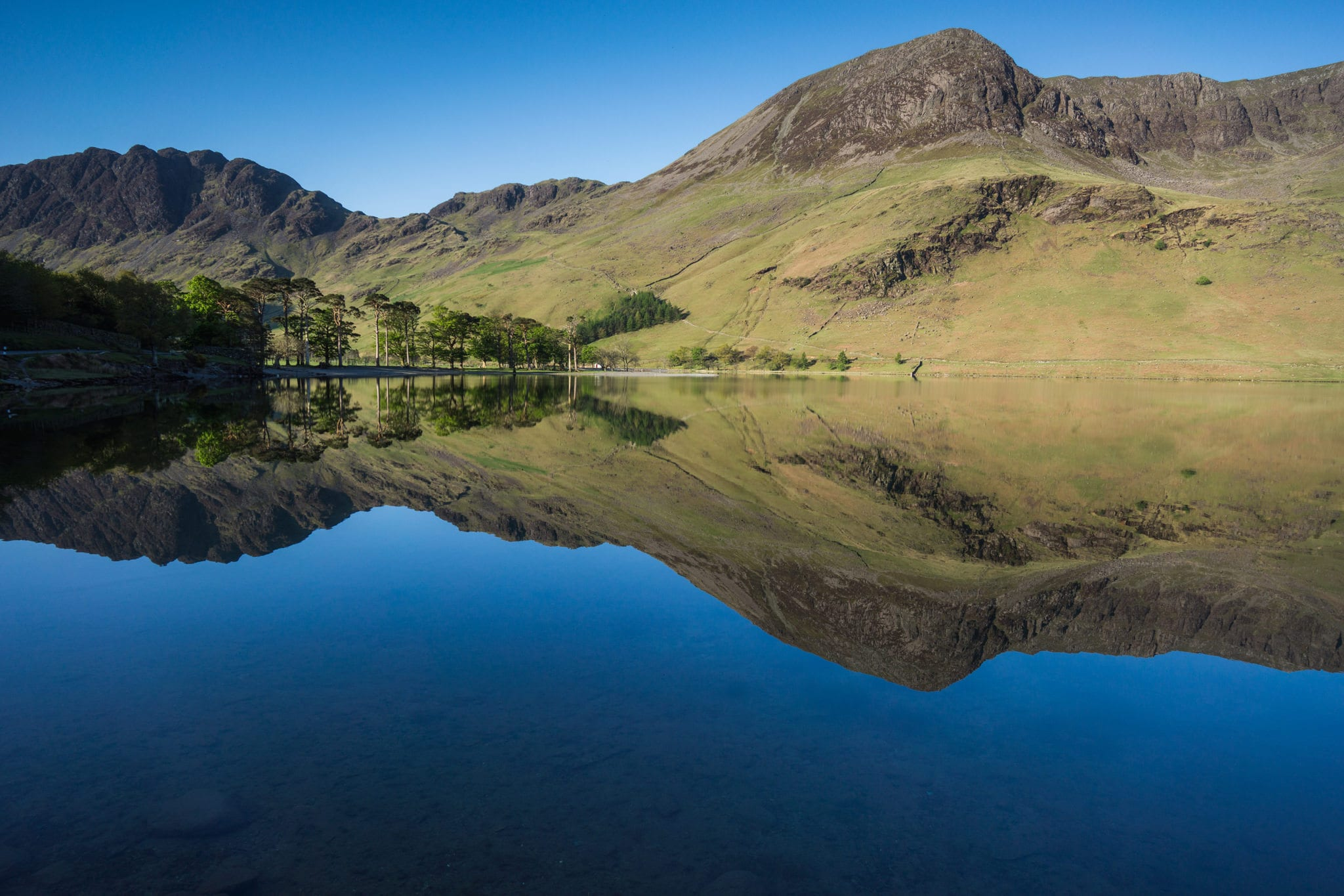 Buttermere Reflections - Lake District Photography Workshops