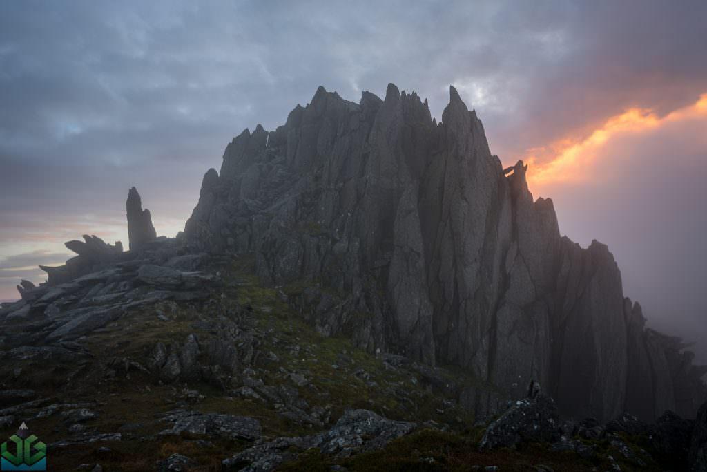 Castell y Gwynt Moods - Snowdonia Photography