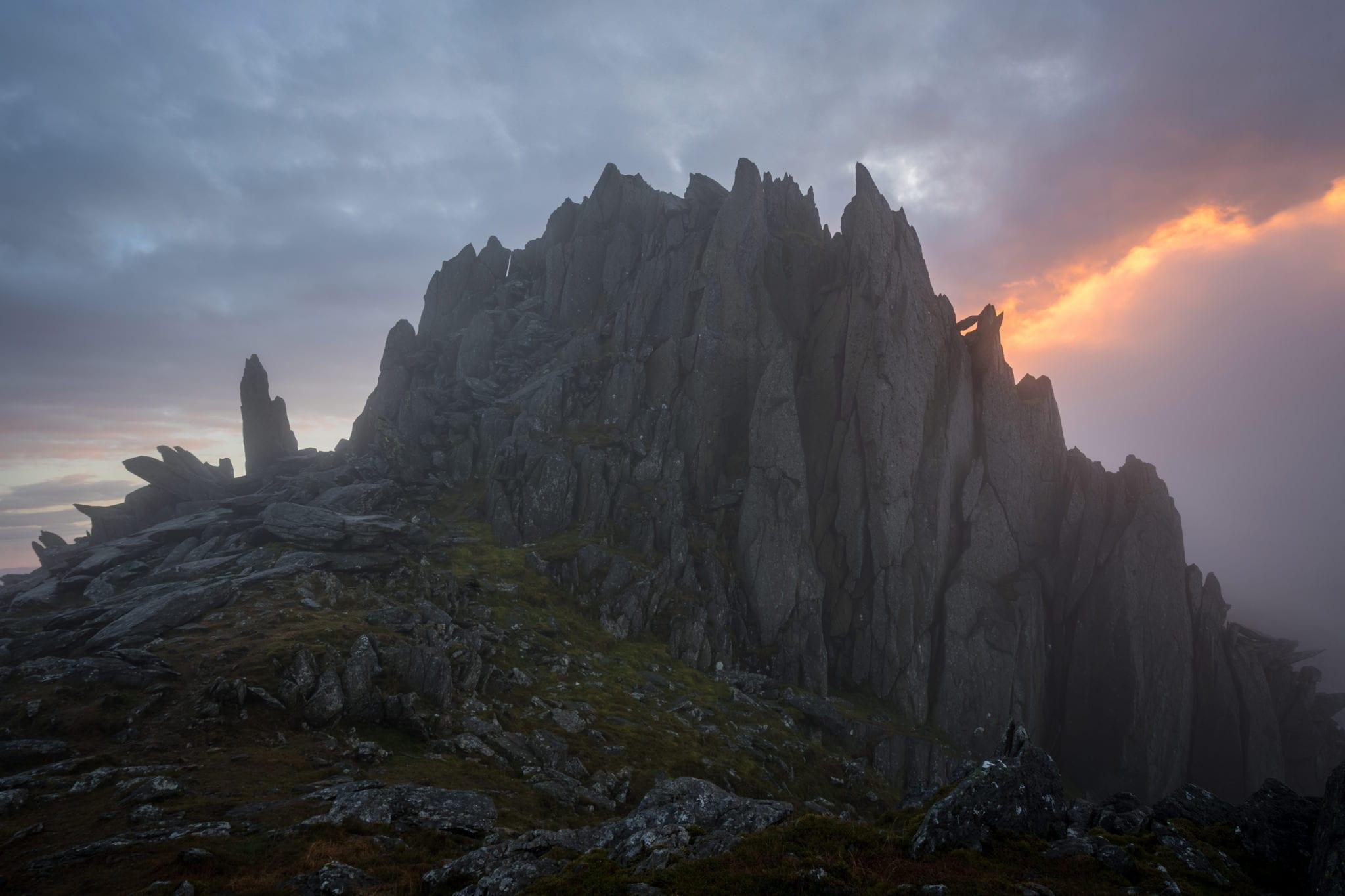 Castell y Gwynt Moods - Snowdonia Wild Camping Photography Workshop