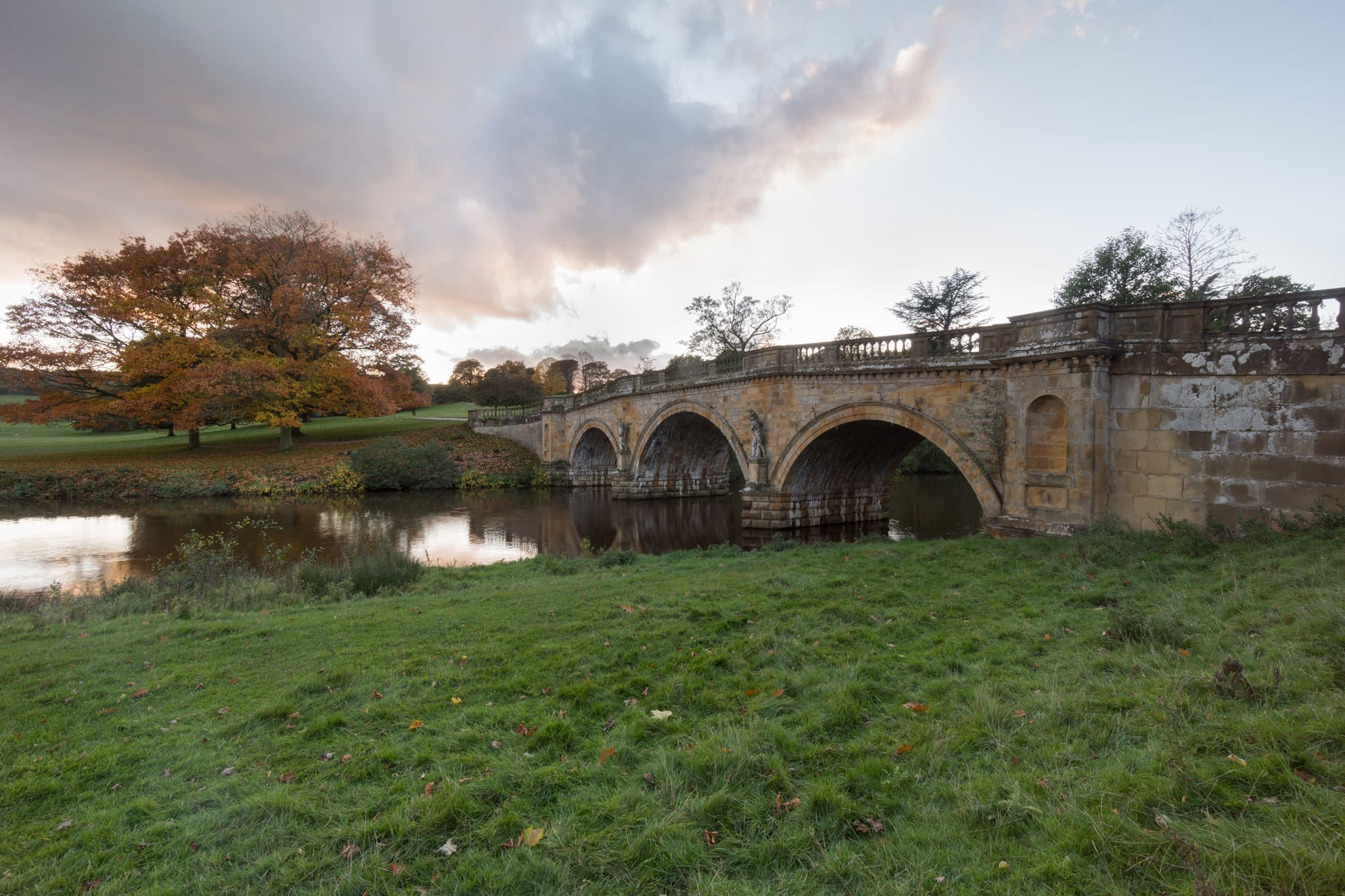 Chatsworth Bridge - Bakewell and Chatsworth Peak District Photography Workshop