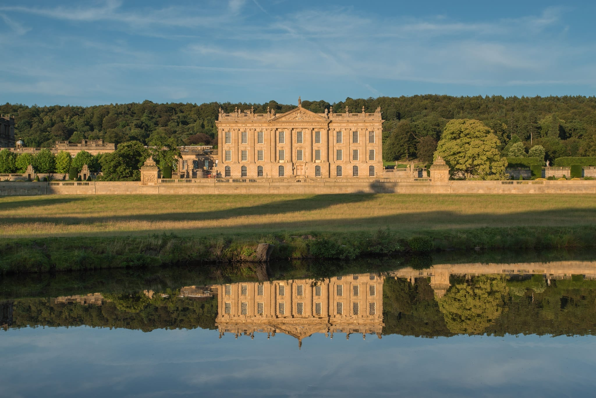 Chatsworth House Reflections - Bakewell and Chatsworth Peak District Photography Workshop