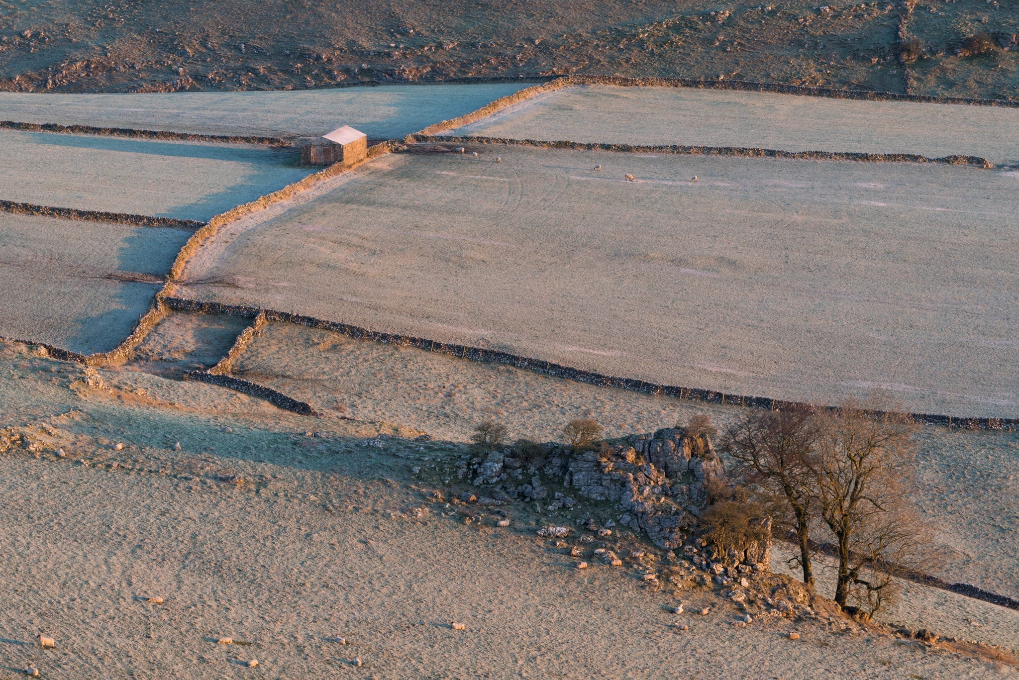 Chrome Hill Barn - White Peak District Winter Photography Workshop