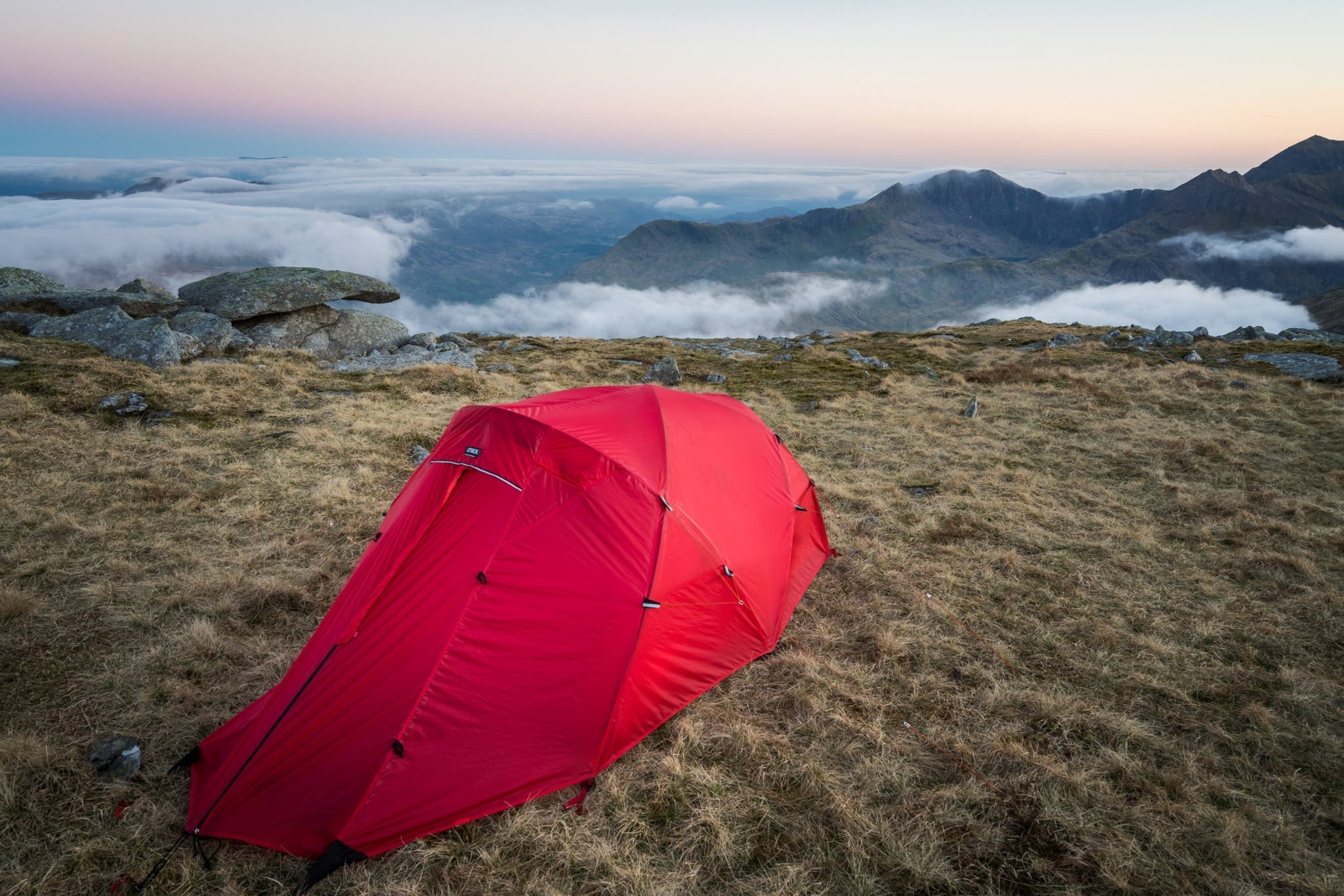 Crux X2 on Glyder Fach - Snowdonia Wild Camping Photography Workshop