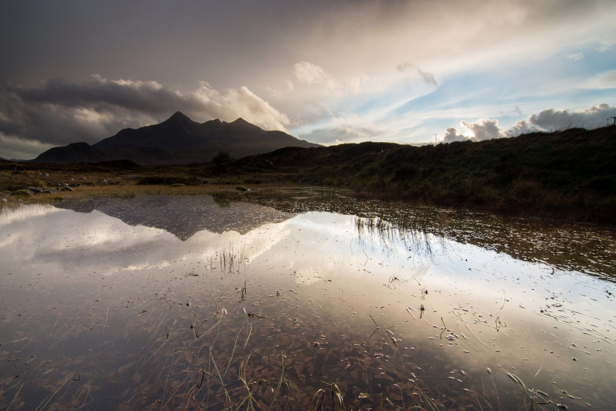 Cuillin from Sligachan Bridge - Isle of Skye Photography Workshop