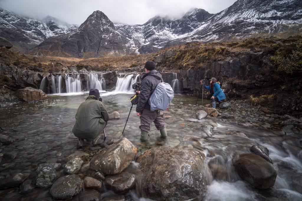 Landscape photography workshop on the Isle of Skye