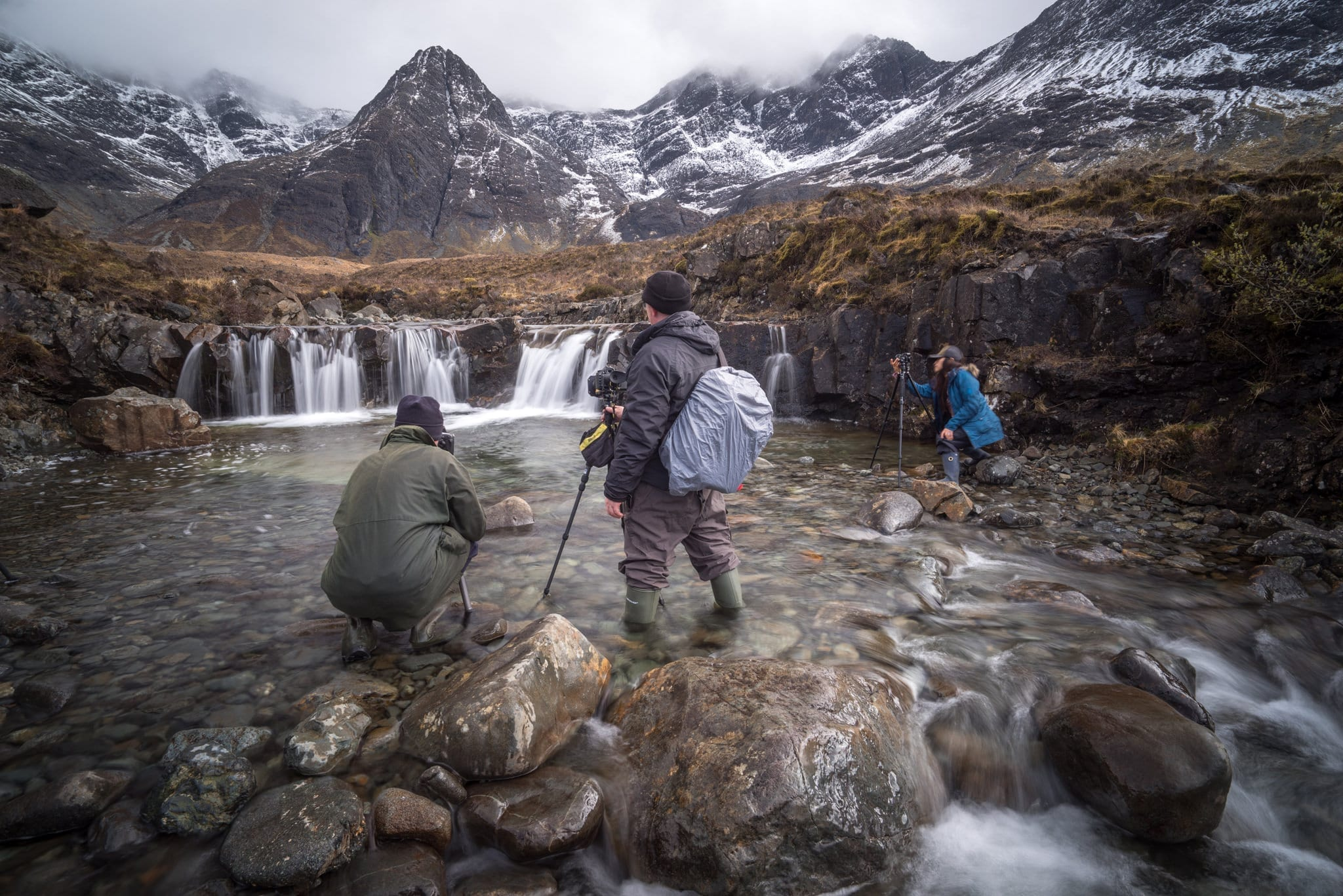 Fairy Pools Workshop - Isle of Skye Photography Workshops