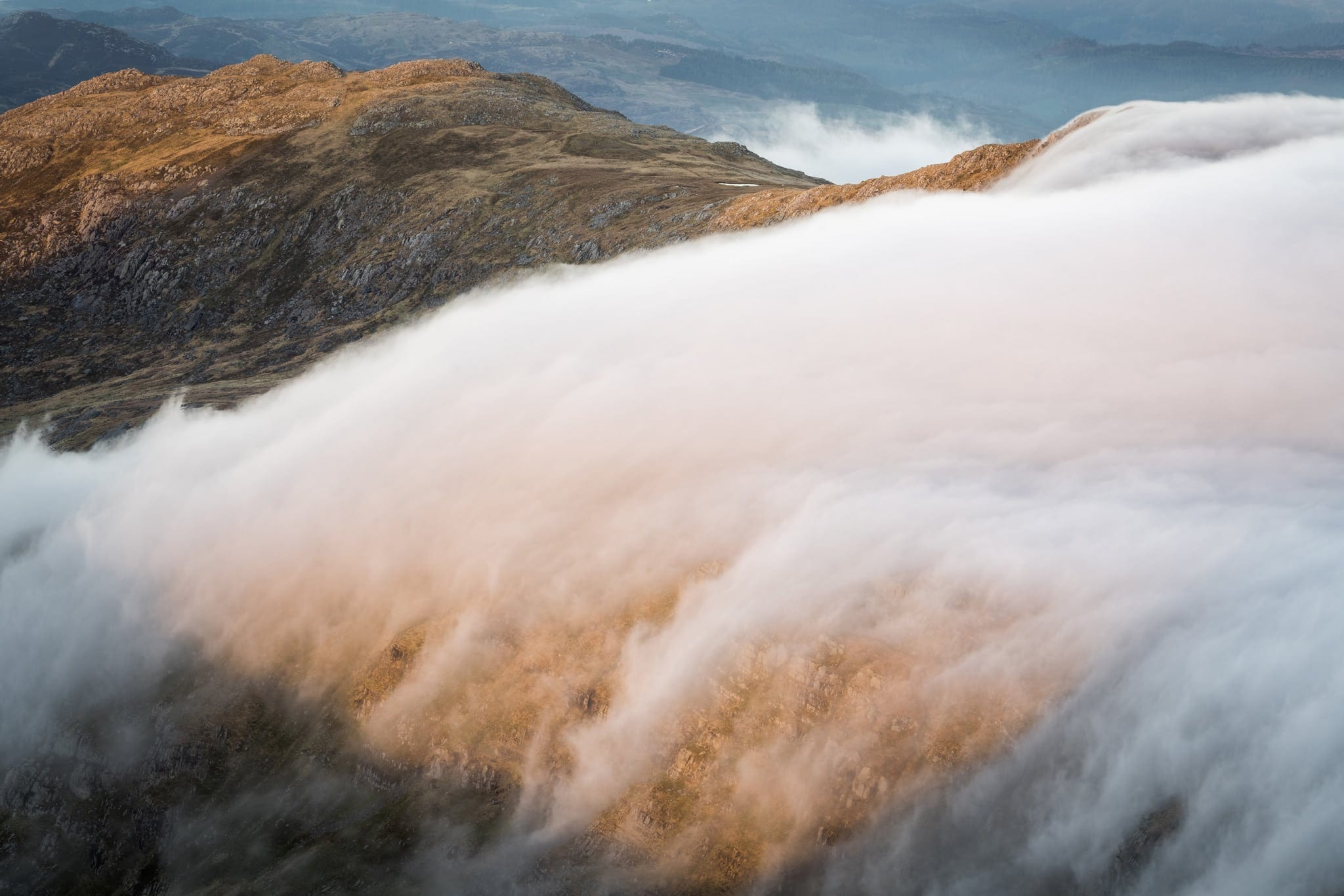 Foel Goch Clouds - Snowdonia Photography